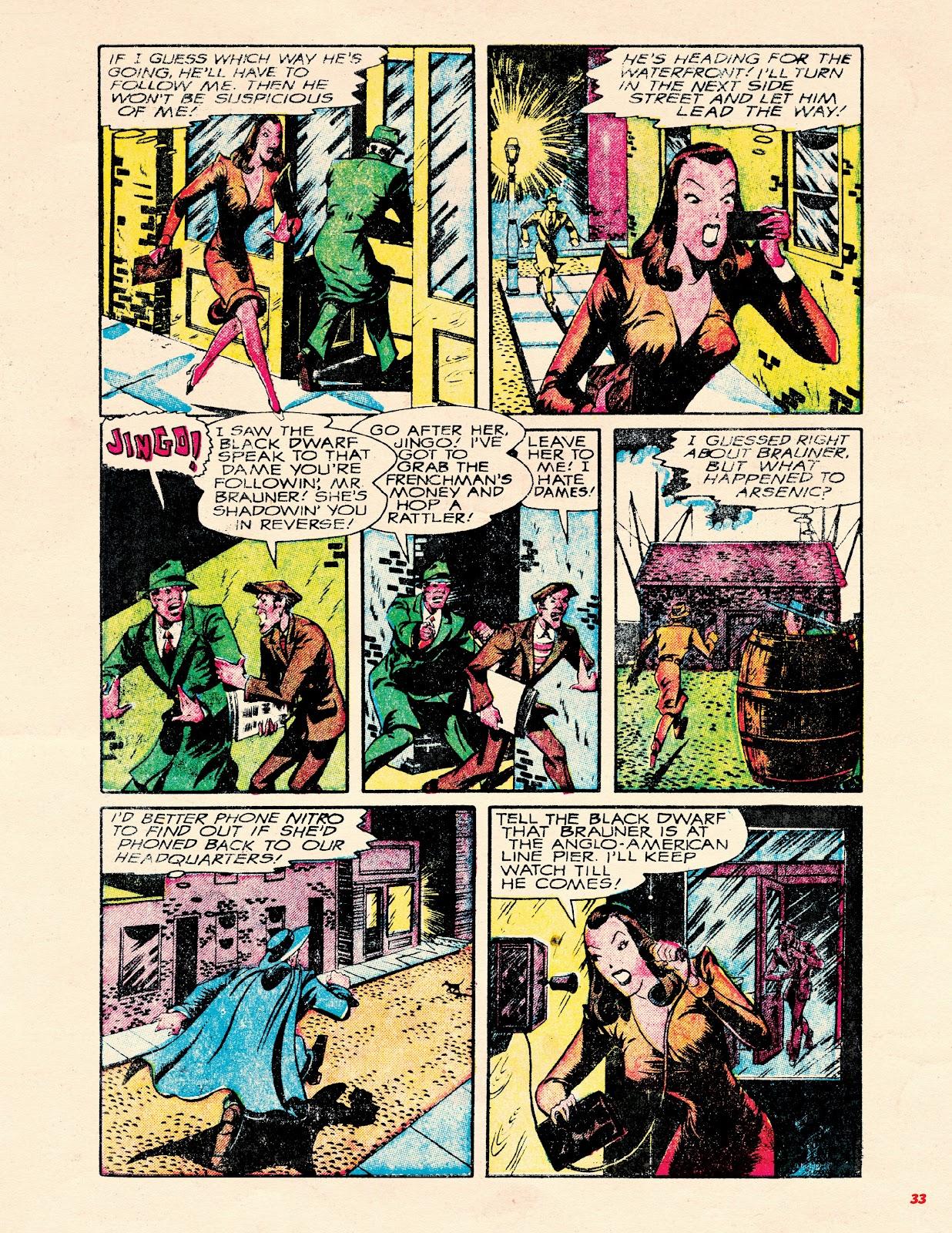 Read online Super Weird Heroes comic -  Issue # TPB 2 (Part 1) - 33