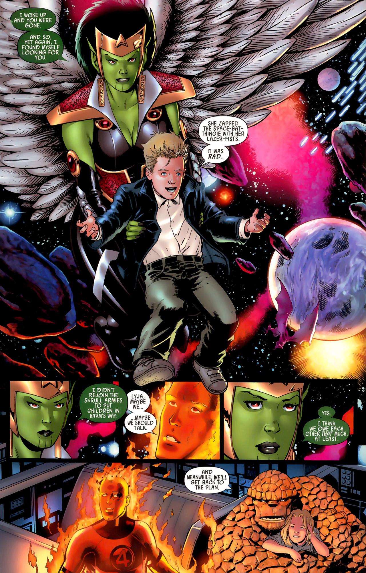 Read online Secret Invasion: Fantastic Four comic -  Issue #3 - 9