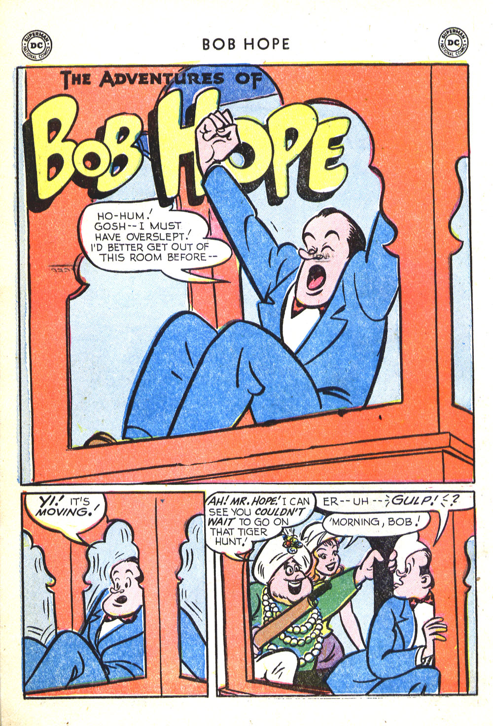The Adventures of Bob Hope issue 30 - Page 14