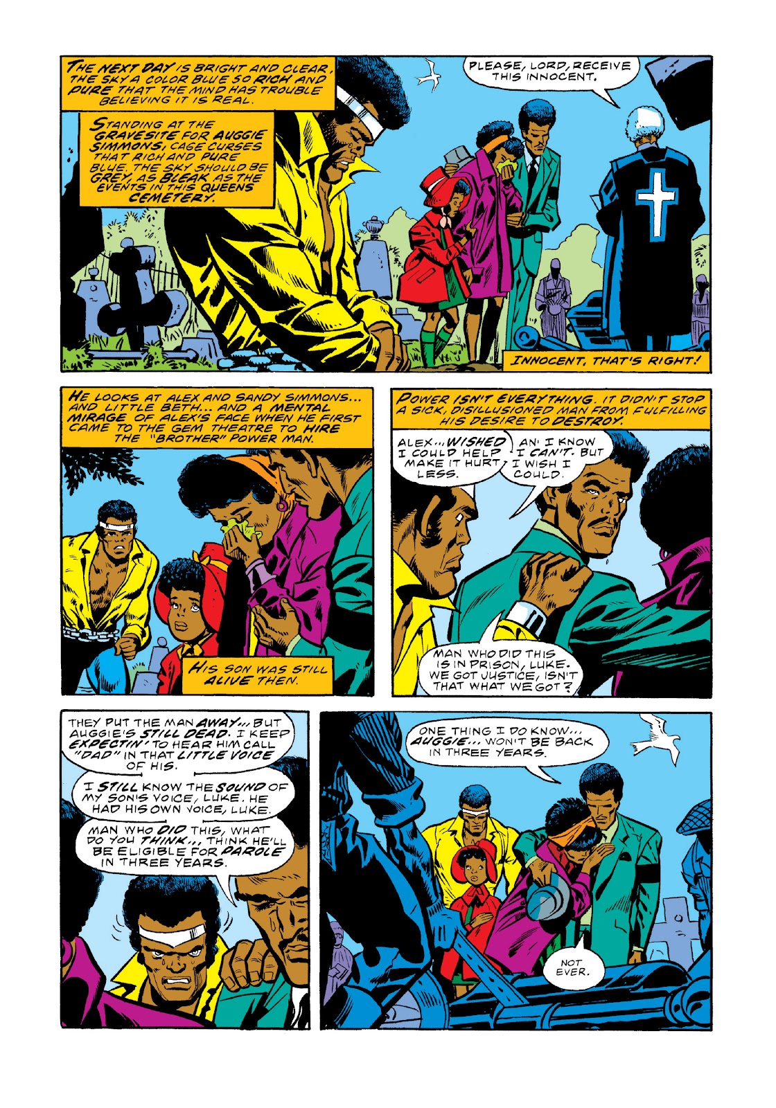 Read online Marvel Masterworks: Luke Cage, Power Man comic -  Issue # TPB 3 (Part 1) - 41