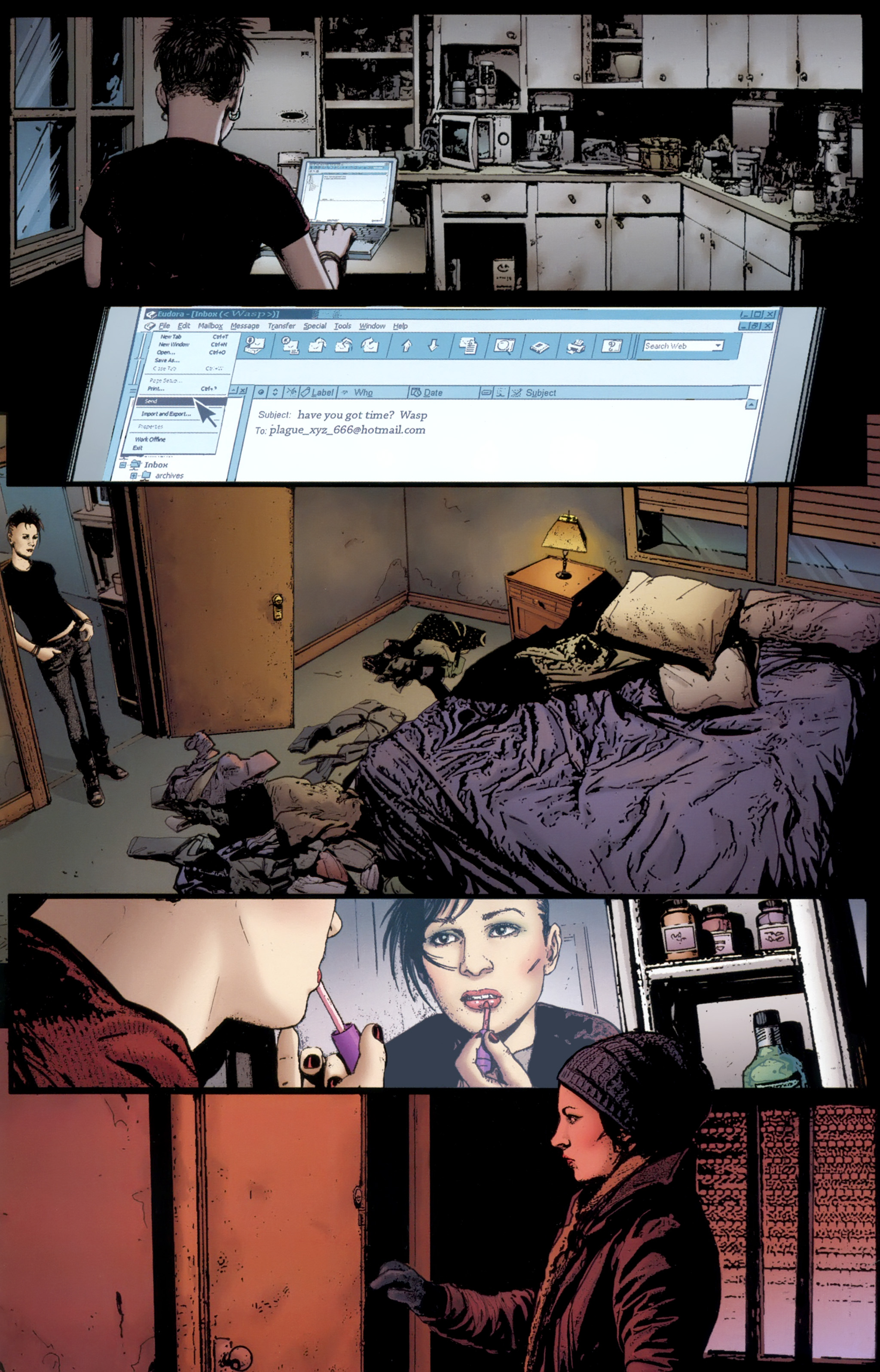 Read online The Girl With the Dragon Tattoo comic -  Issue # TPB 1 - 42