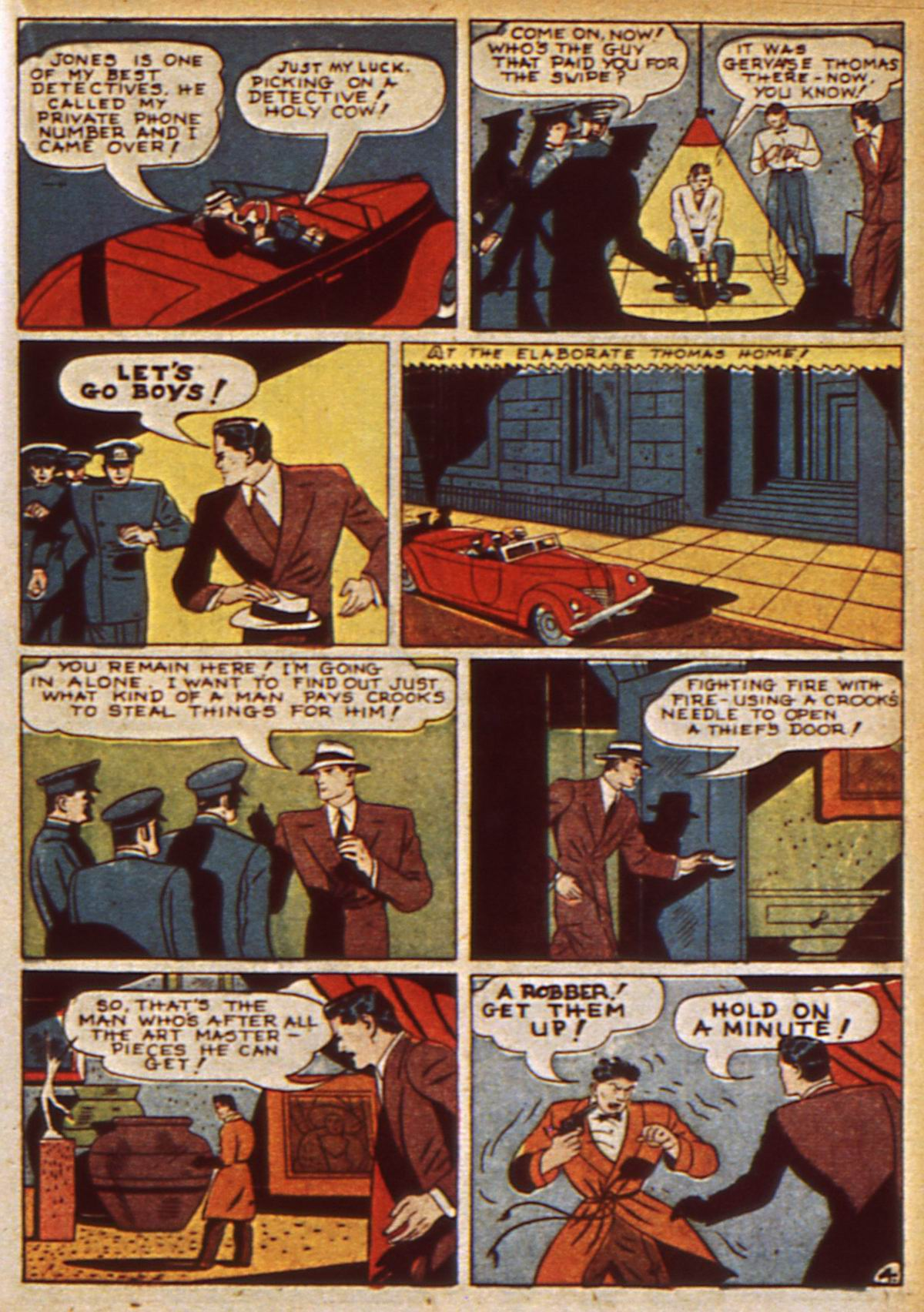 Read online Detective Comics (1937) comic -  Issue #47 - 47