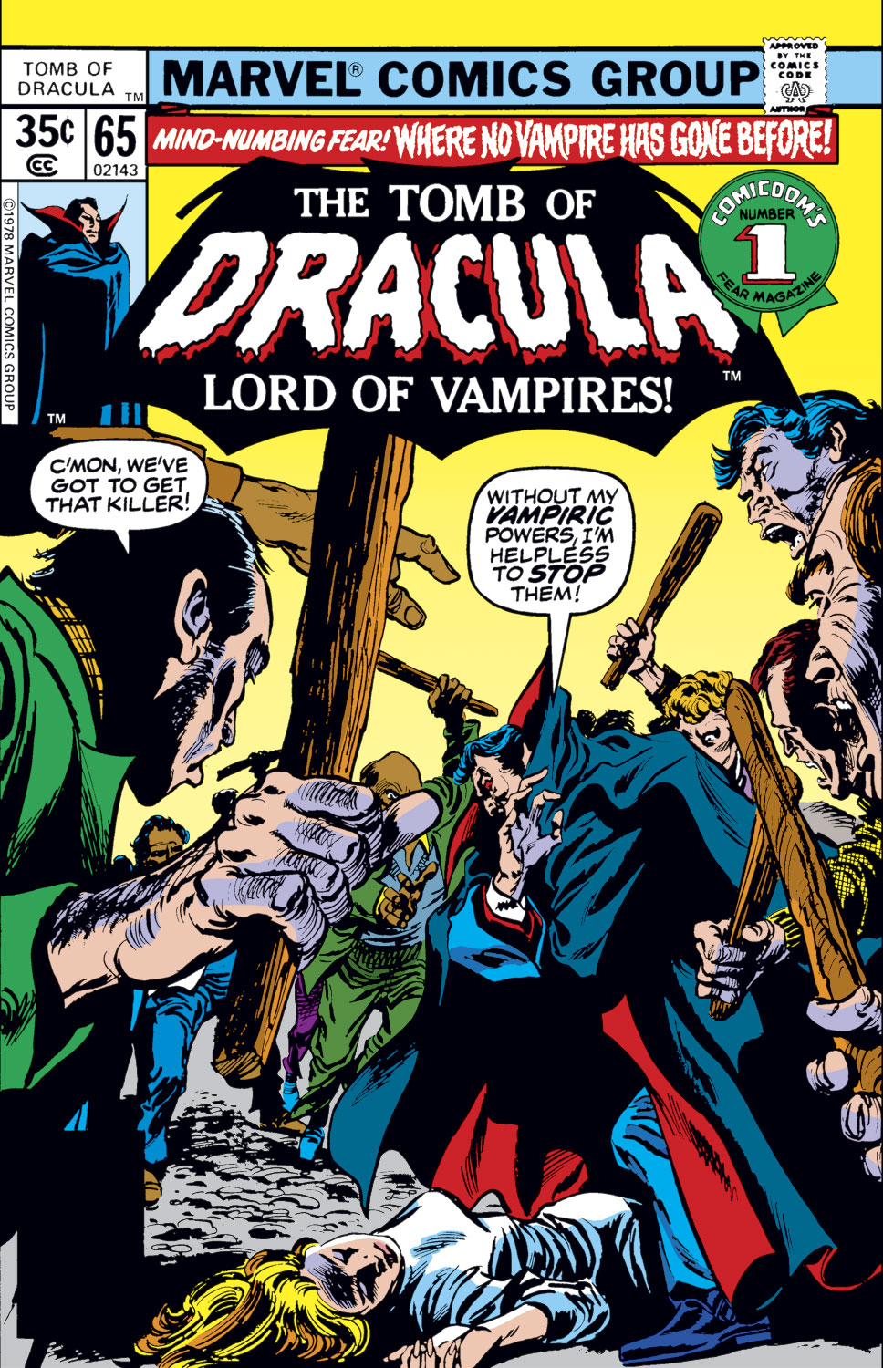 Tomb of Dracula (1972) issue 65 - Page 1