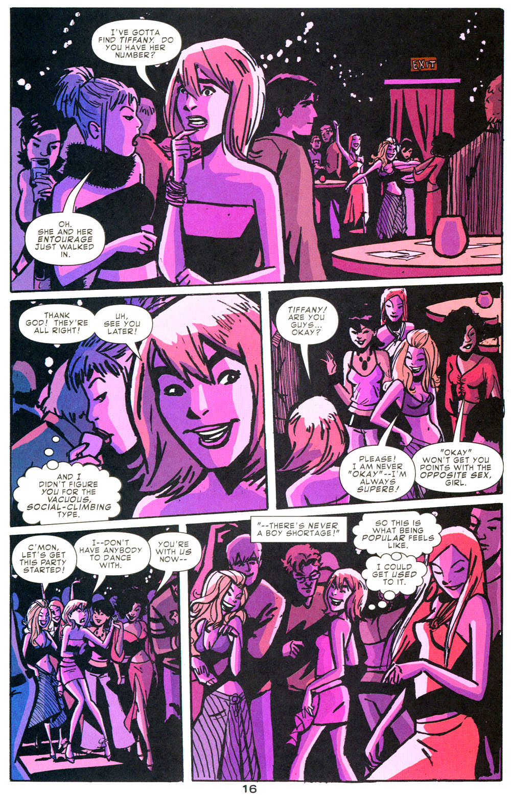 Read online Bad Girls comic -  Issue #1 - 17