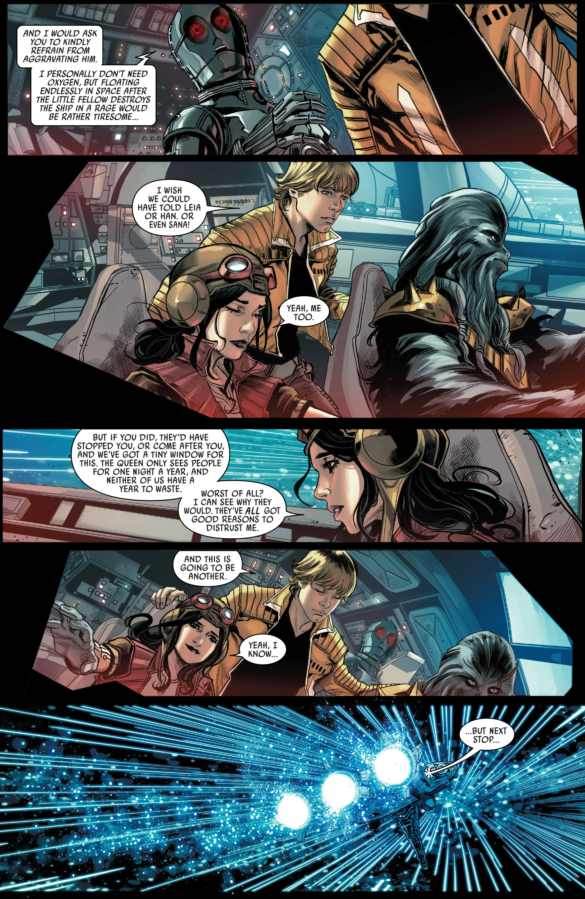 Read online Star Wars: The Screaming Citadel comic -  Issue # Full - 14