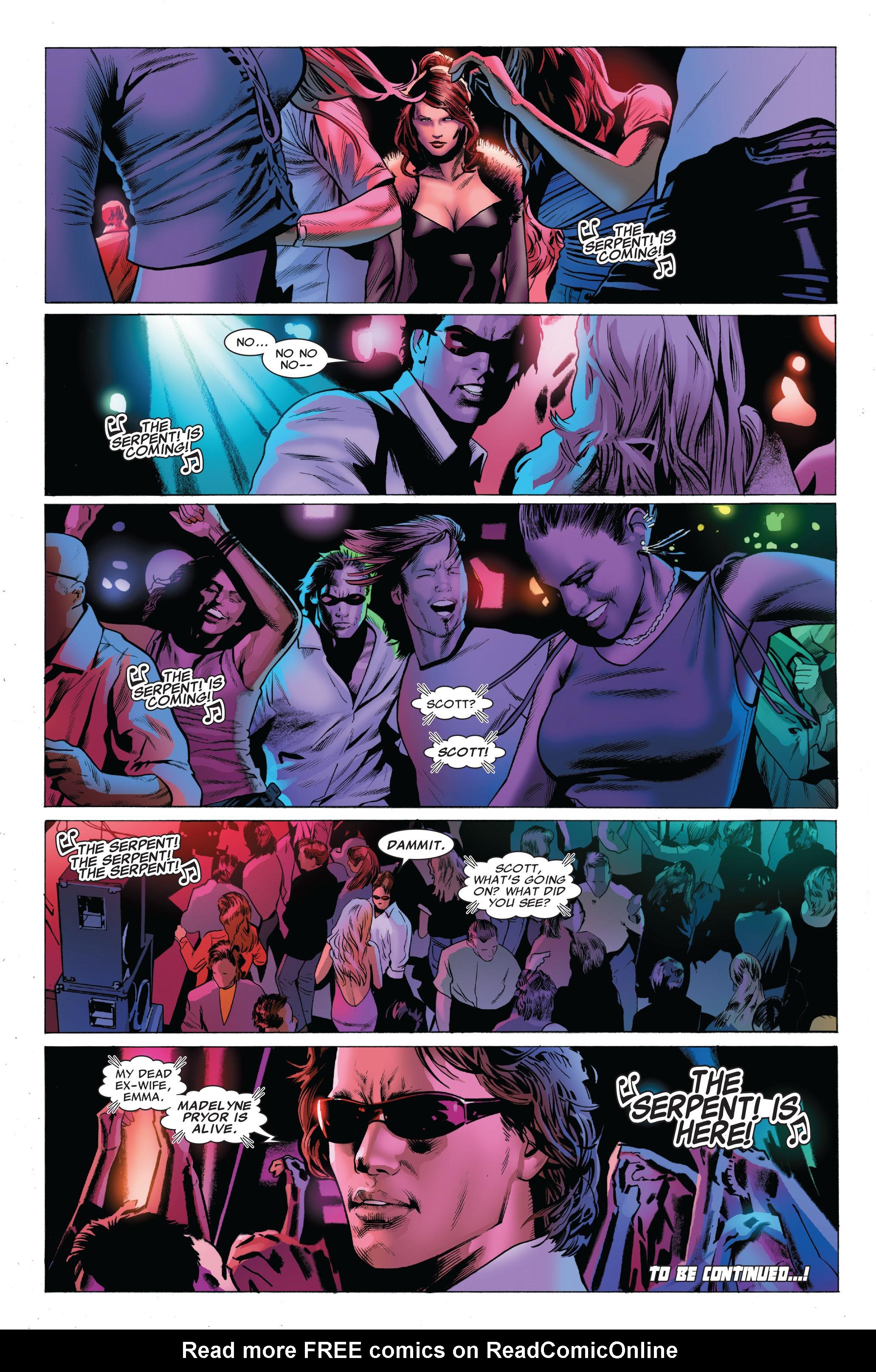 Read online Uncanny X-Men (1963) comic -  Issue #503 - 25