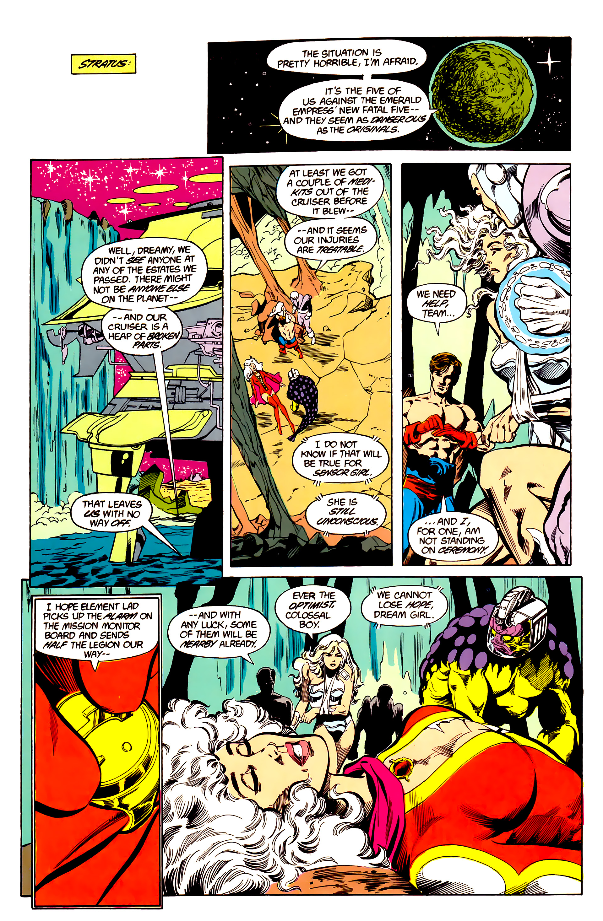 Legion of Super-Heroes (1984) 26 Page 7