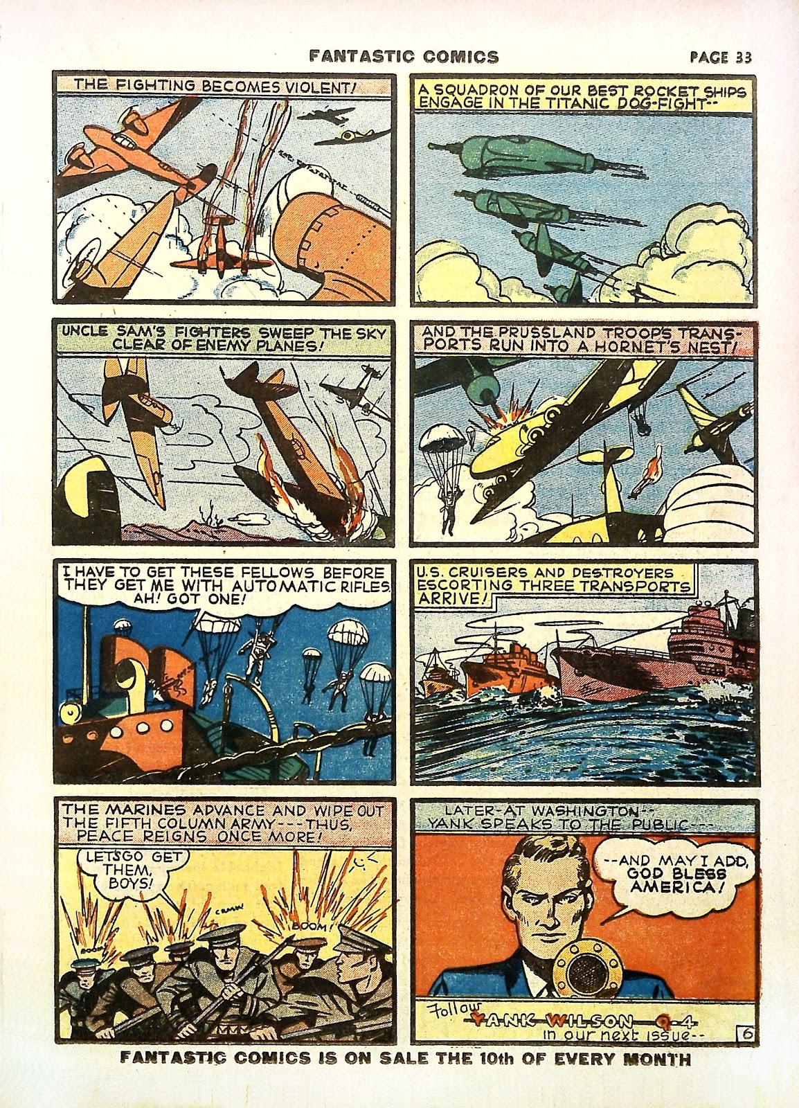 Read online Fantastic Comics comic -  Issue #11 - 36