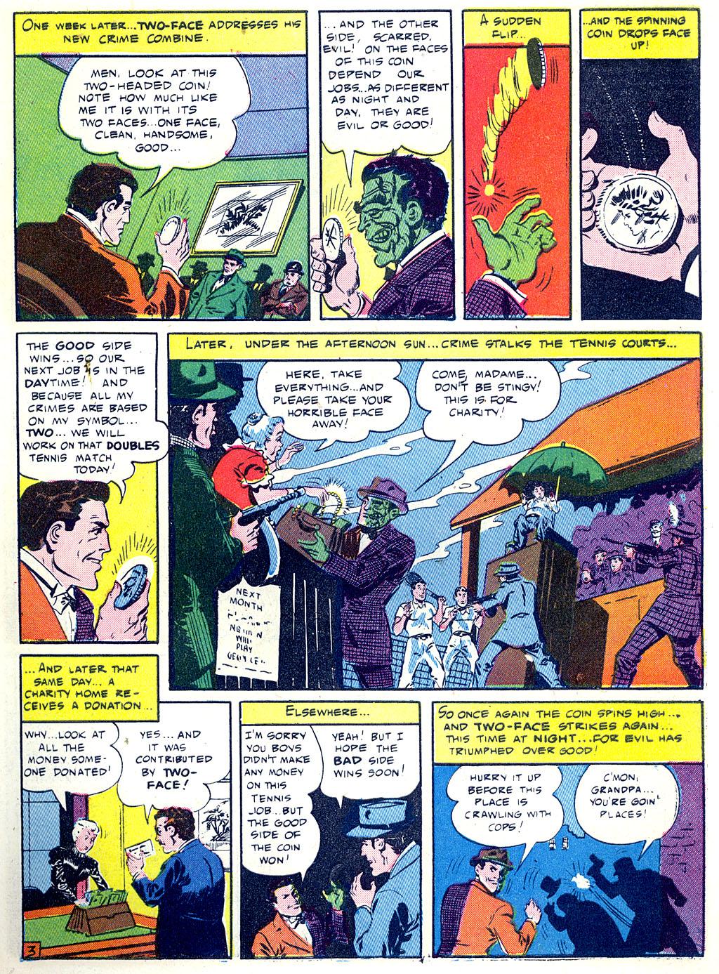 Read online Detective Comics (1937) comic -  Issue #68 - 5