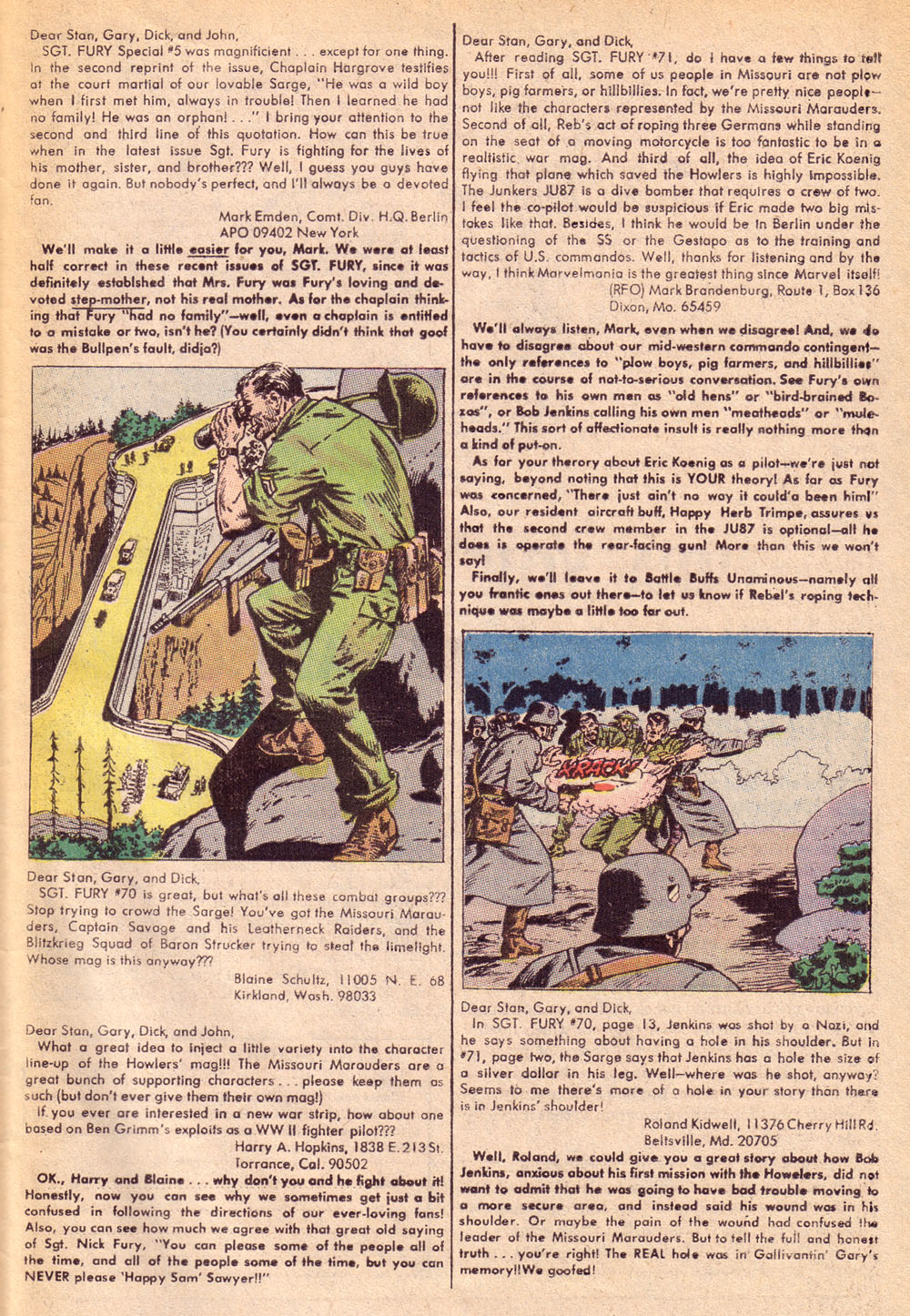 Read online Sgt. Fury comic -  Issue #74 - 33