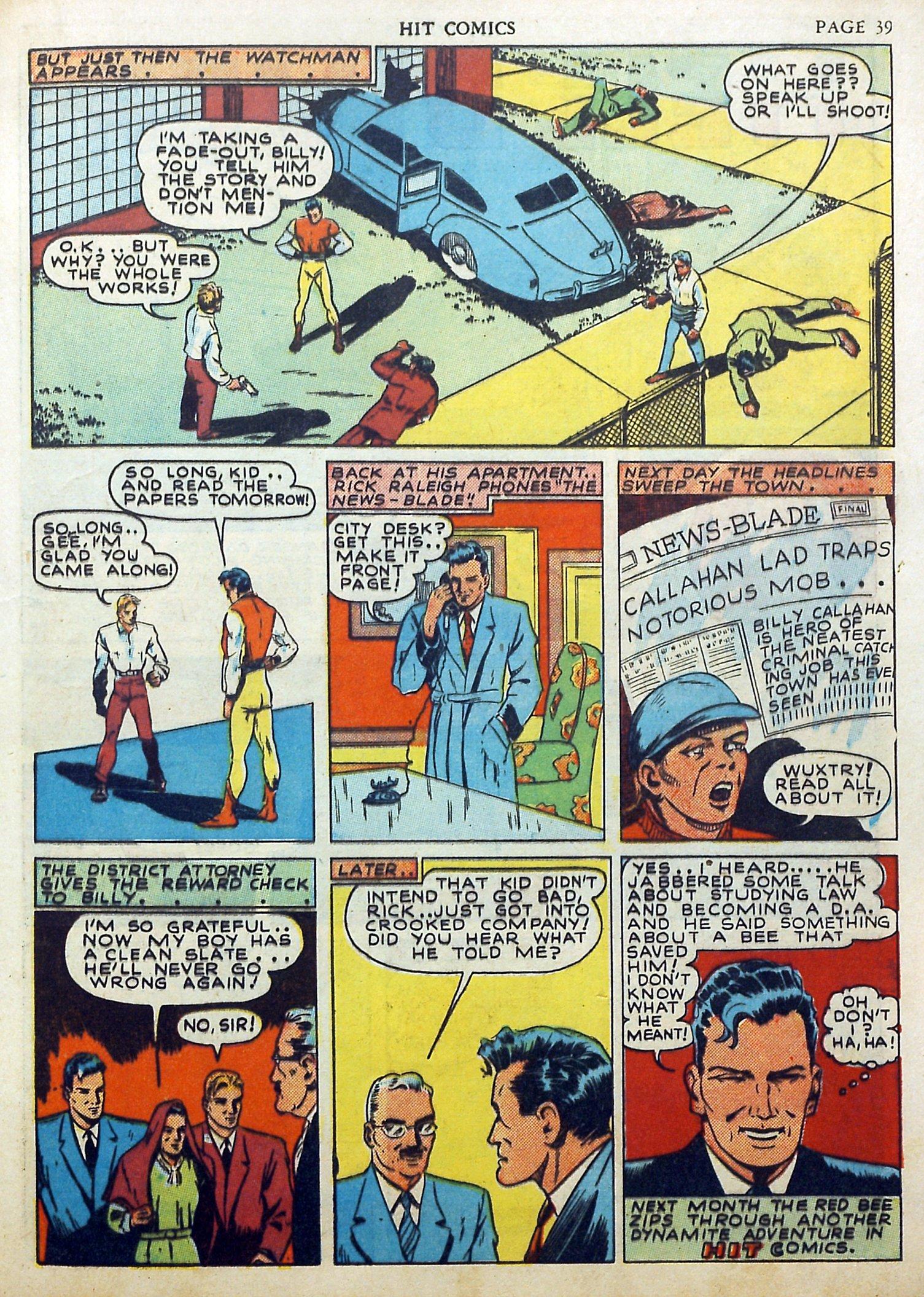 Read online Hit Comics comic -  Issue #17 - 41