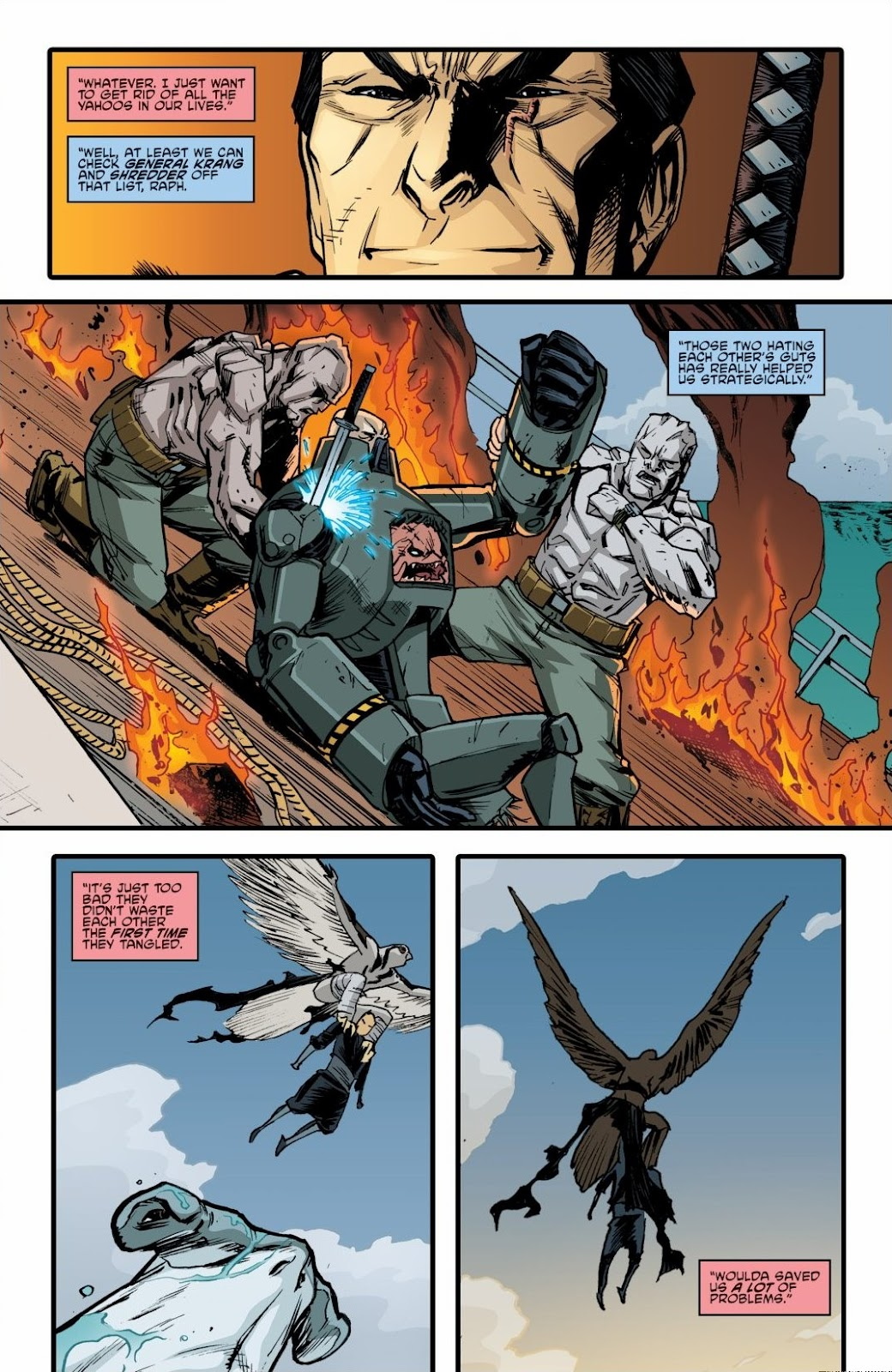 Read online Teenage Mutant Ninja Turtles: The IDW Collection comic -  Issue # TPB 6 (Part 2) - 58