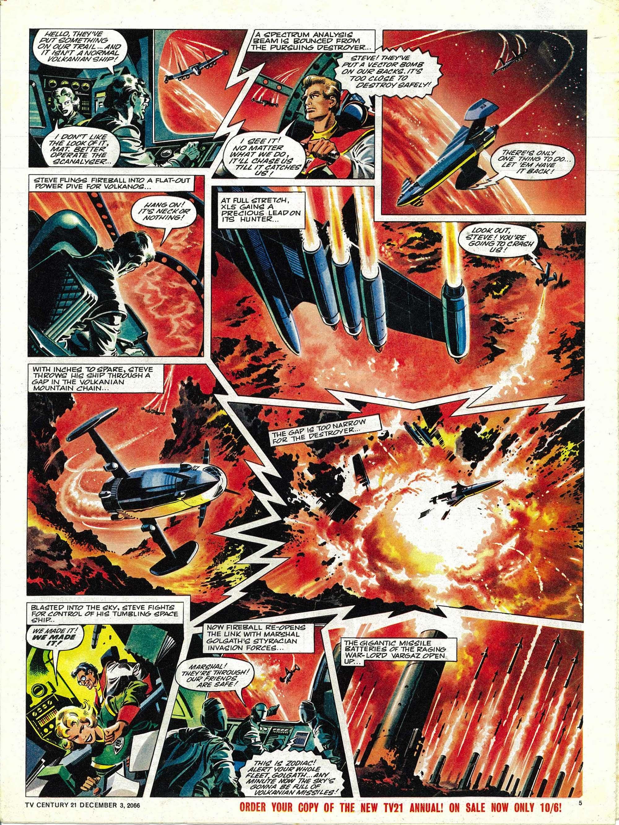 Read online TV Century 21 (TV 21) comic -  Issue #98 - 5
