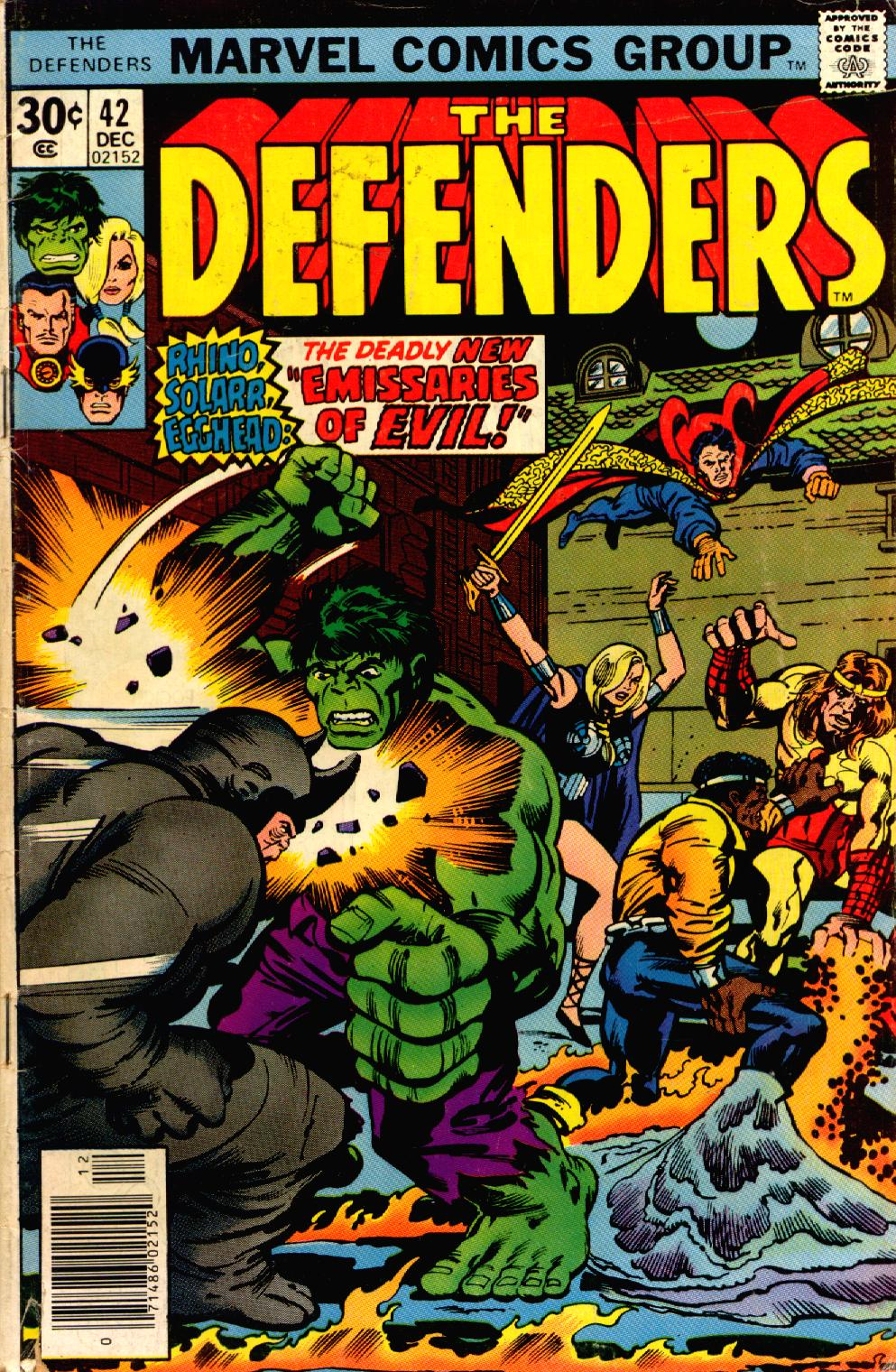 The Defenders (1972) issue 42 - Page 1