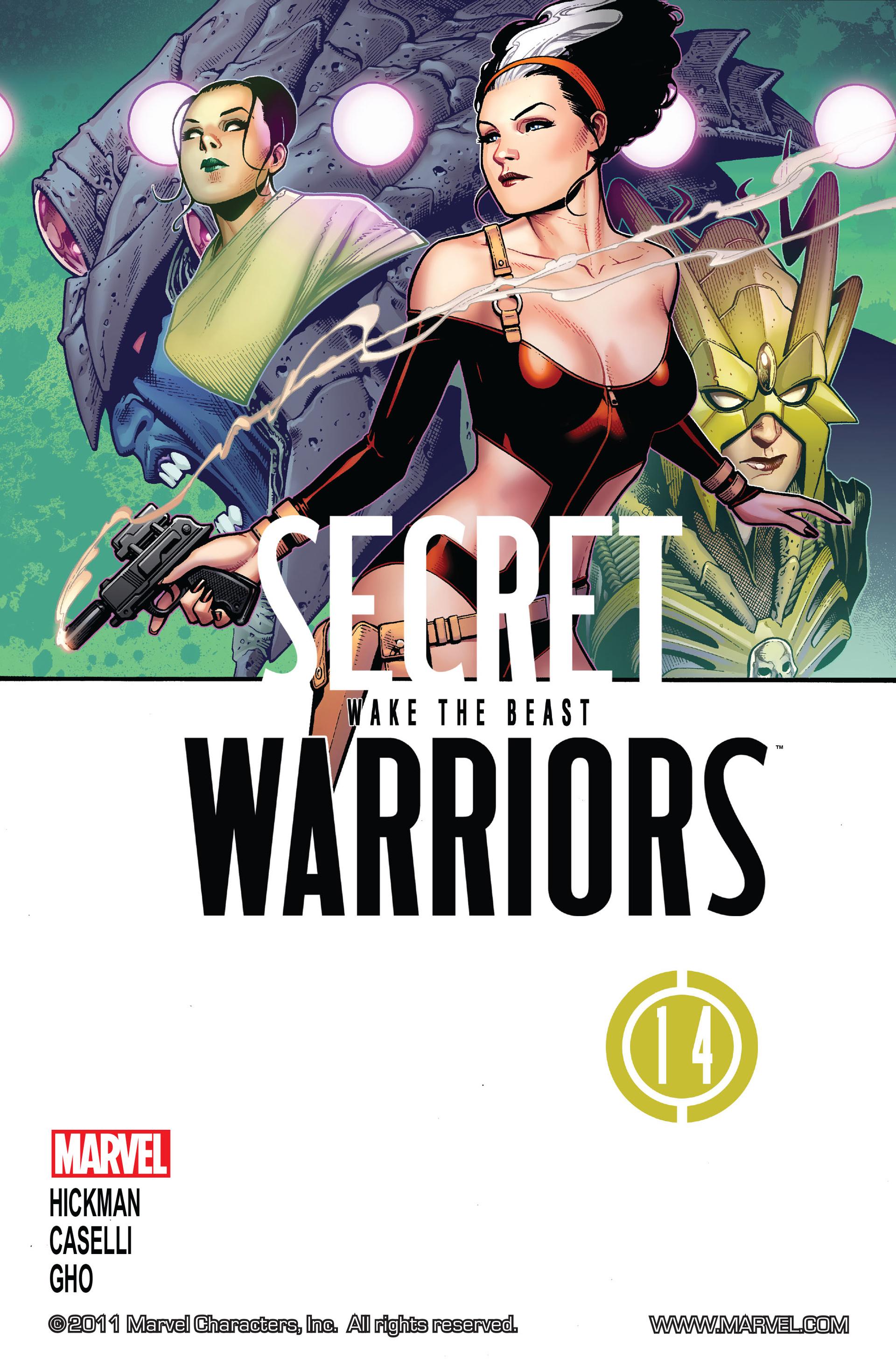Read online Secret Warriors comic -  Issue #14 - 2