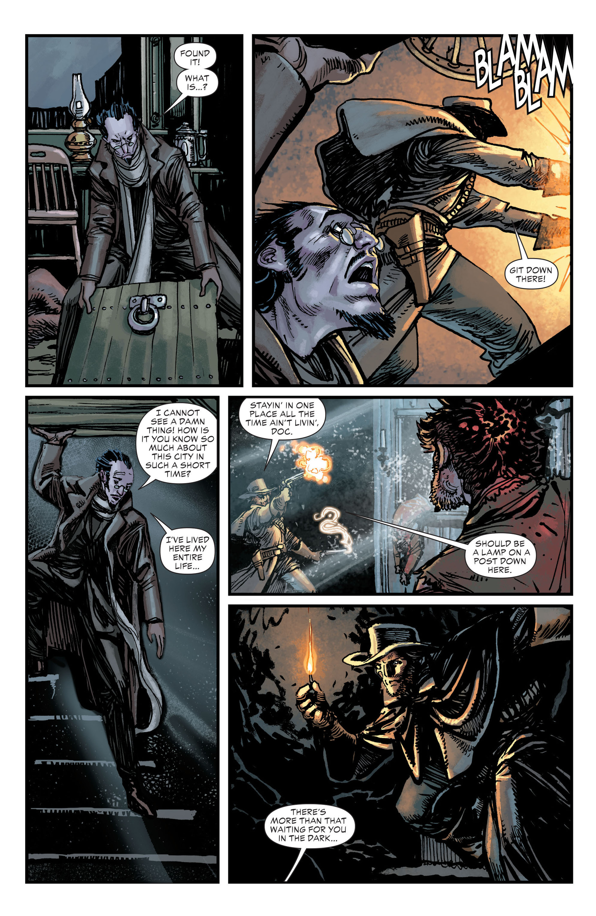 Read online All-Star Western (2011) comic -  Issue #18 - 5