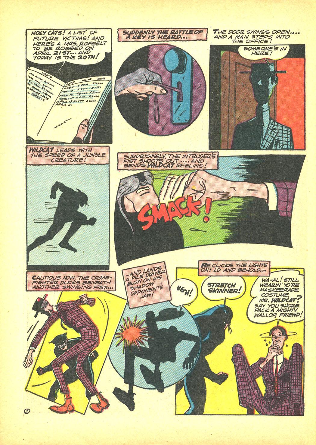 Read online Sensation (Mystery) Comics comic -  Issue #4 - 62