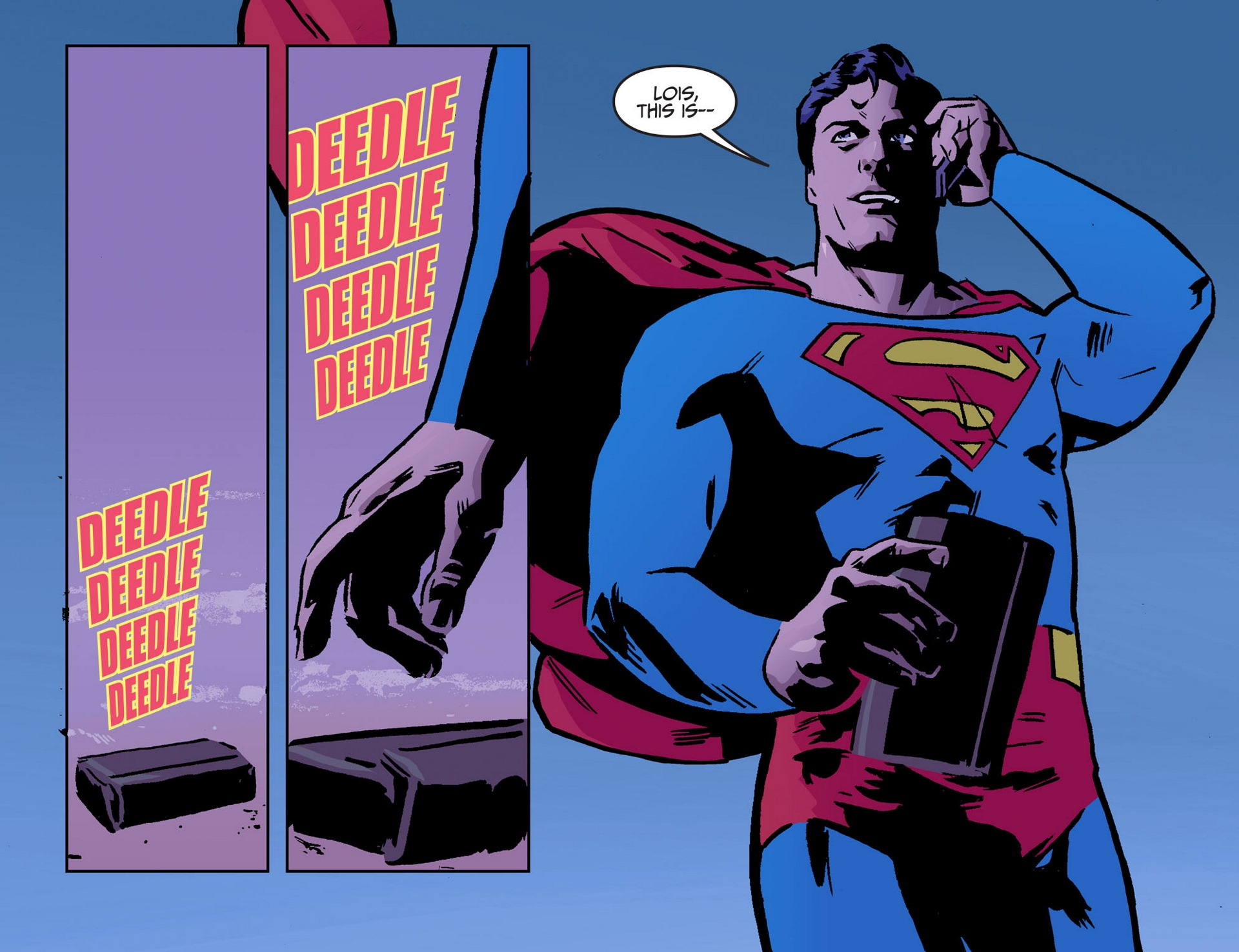 Read online Adventures of Superman [I] comic -  Issue #50 - 7
