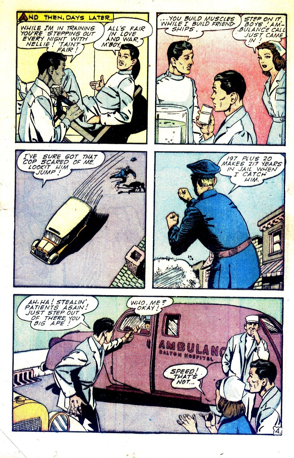 Read online Nellie The Nurse (1945) comic -  Issue #2 - 21