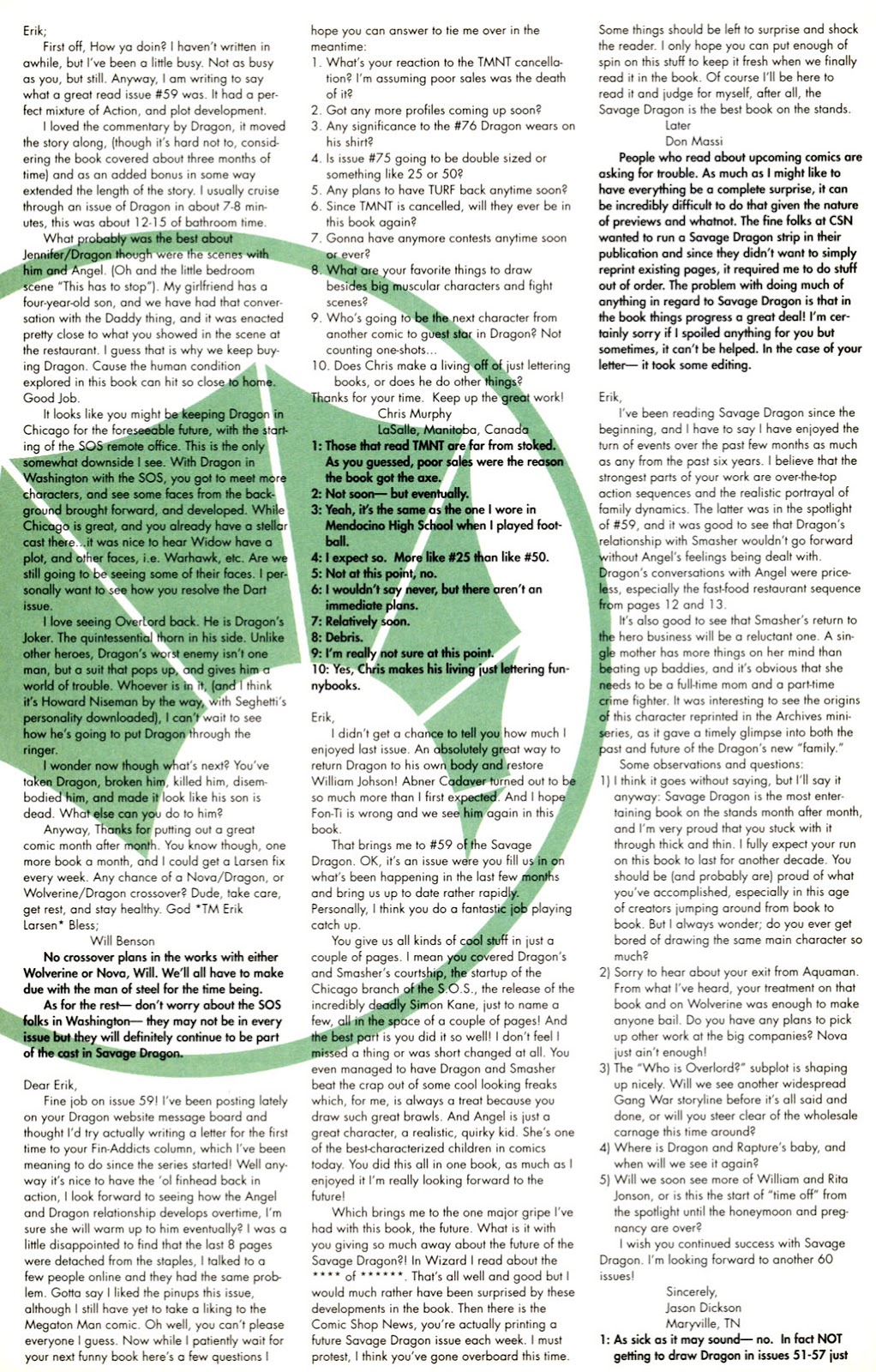 The Savage Dragon (1993) Issue #61 #64 - English 25
