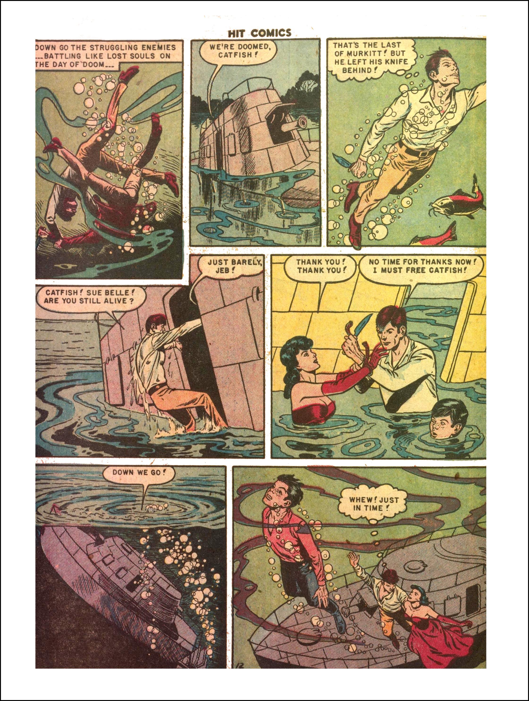 Read online Hit Comics comic -  Issue #65 - 14