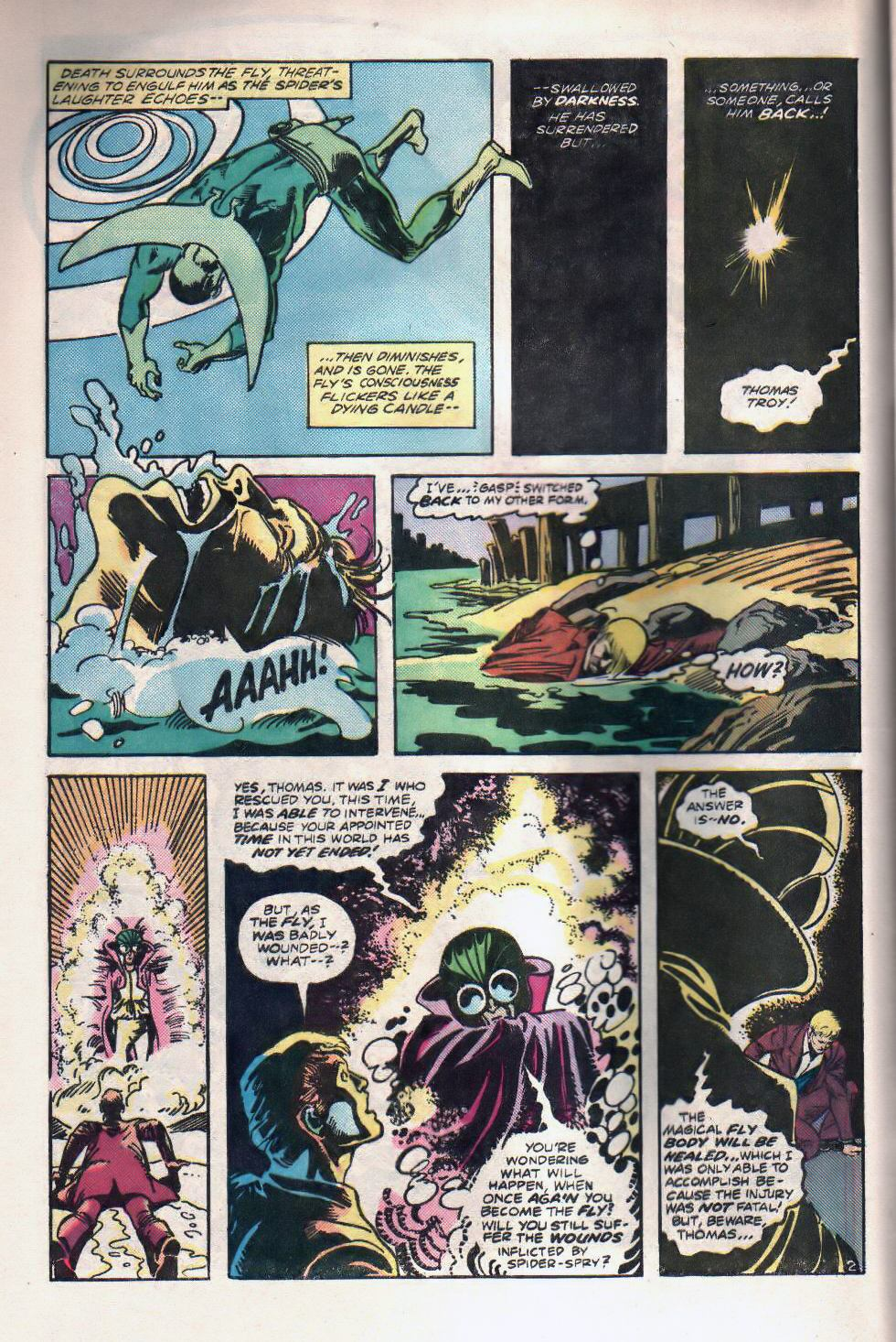 Read online The Fly (1983) comic -  Issue #2 - 4