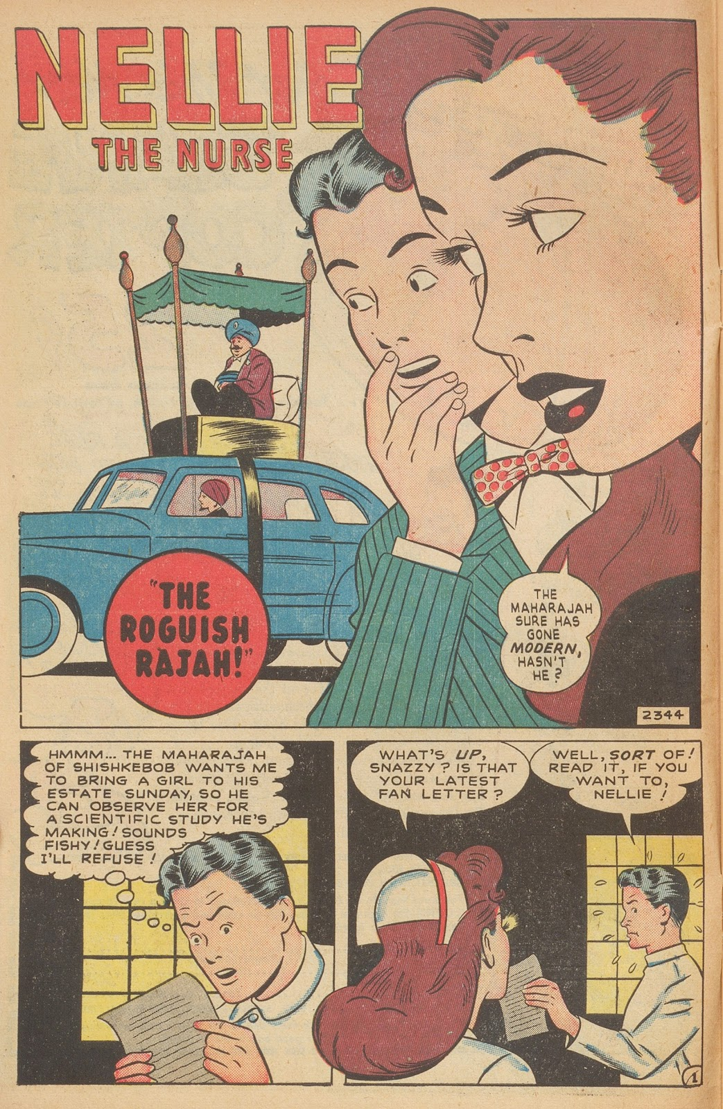 Read online Nellie The Nurse (1945) comic -  Issue #15 - 12