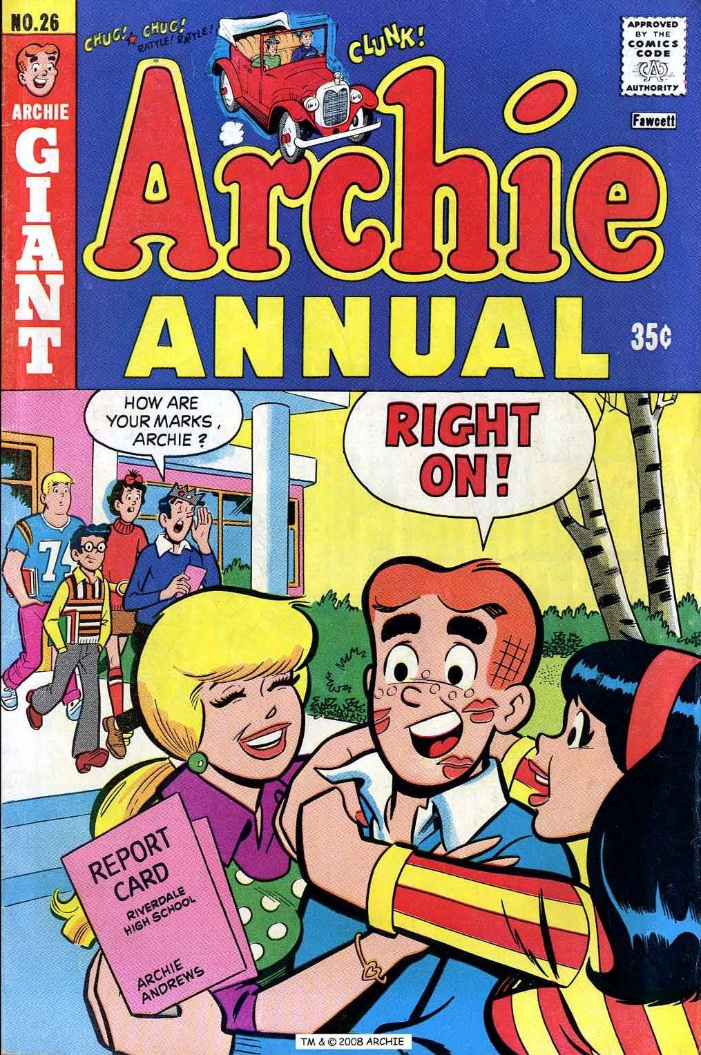 Archie Annual 26 Page 1