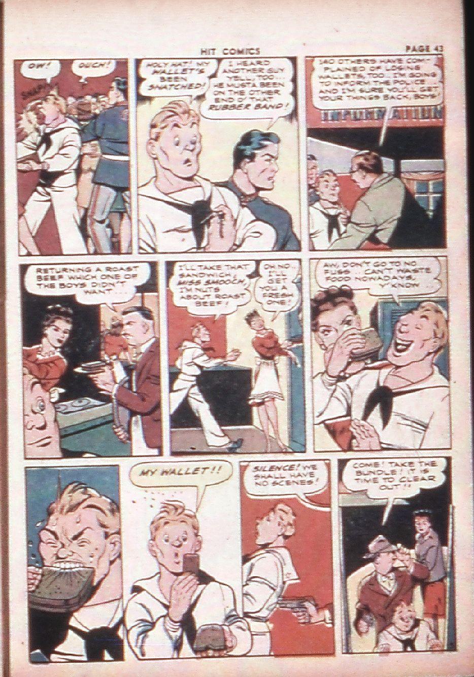 Read online Hit Comics comic -  Issue #29 - 45