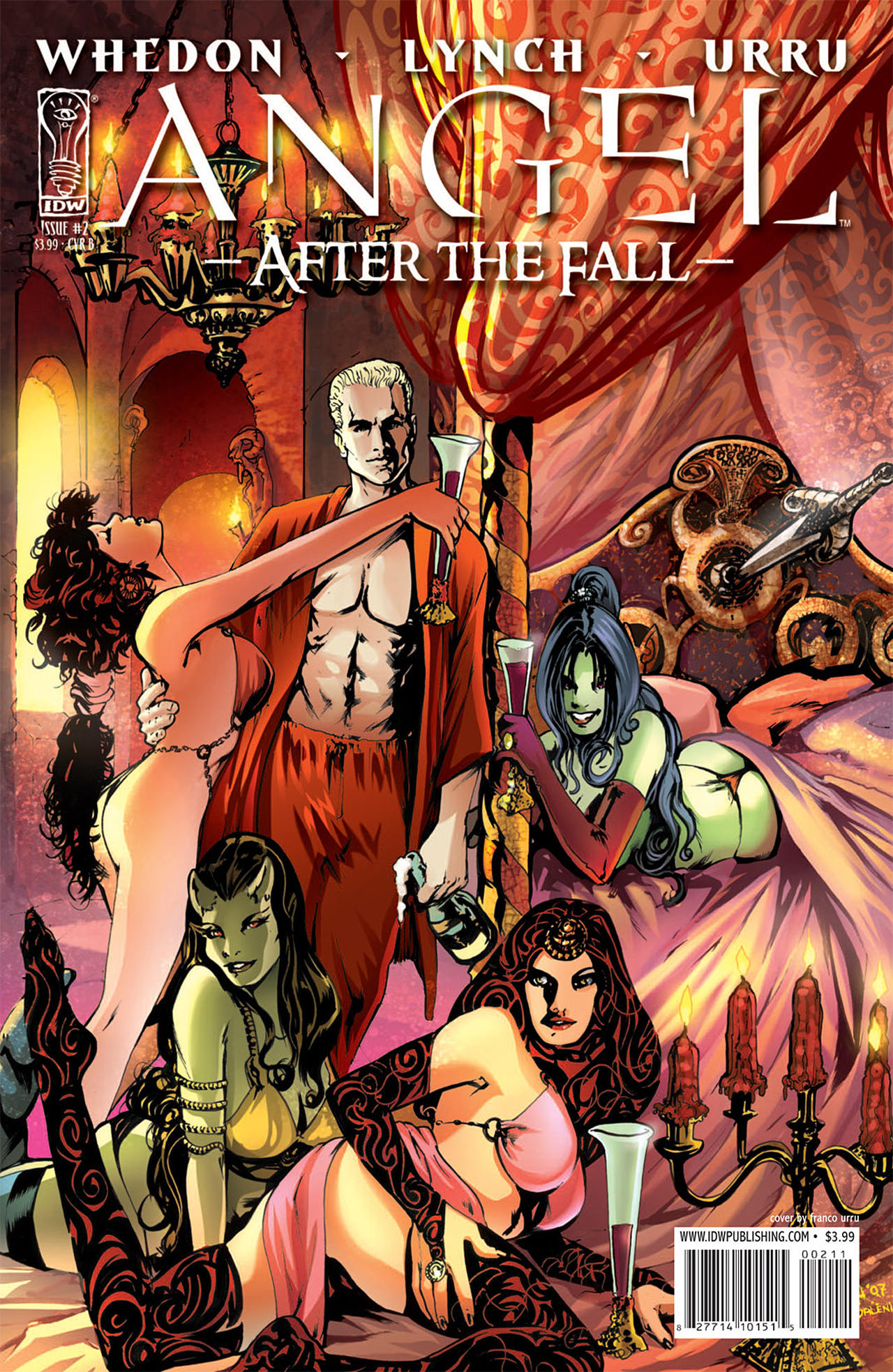 Read online Angel: After The Fall comic -  Issue #2 - 2