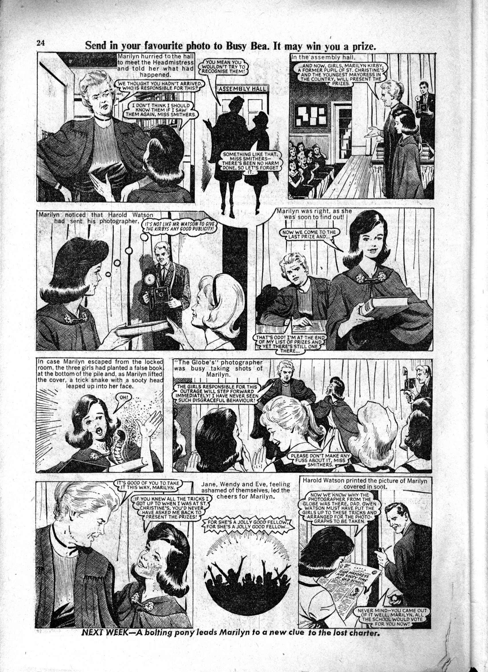 Read online Judy comic -  Issue #229 - 24