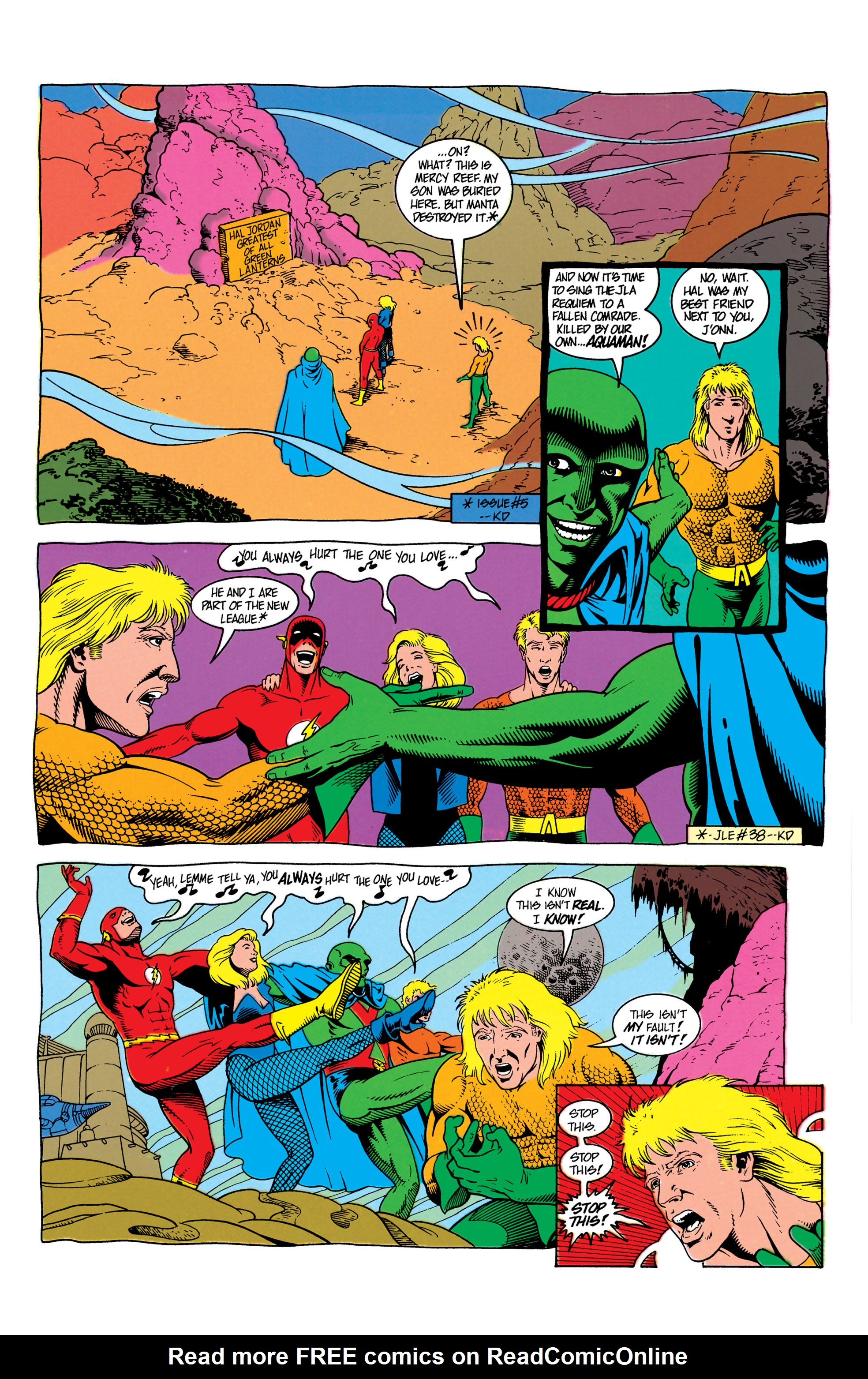 Read online Aquaman (1991) comic -  Issue #7 - 6