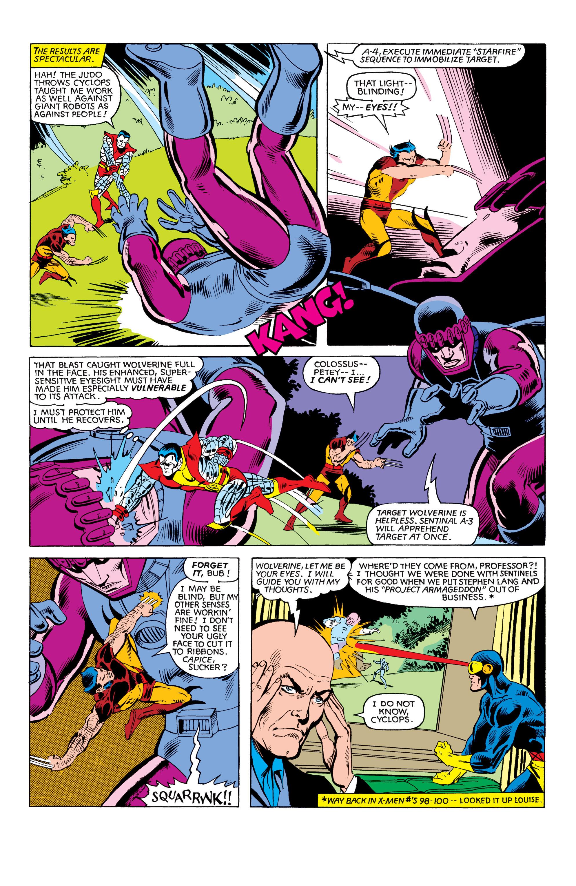 Read online Uncanny X-Men (1963) comic -  Issue #151 - 17