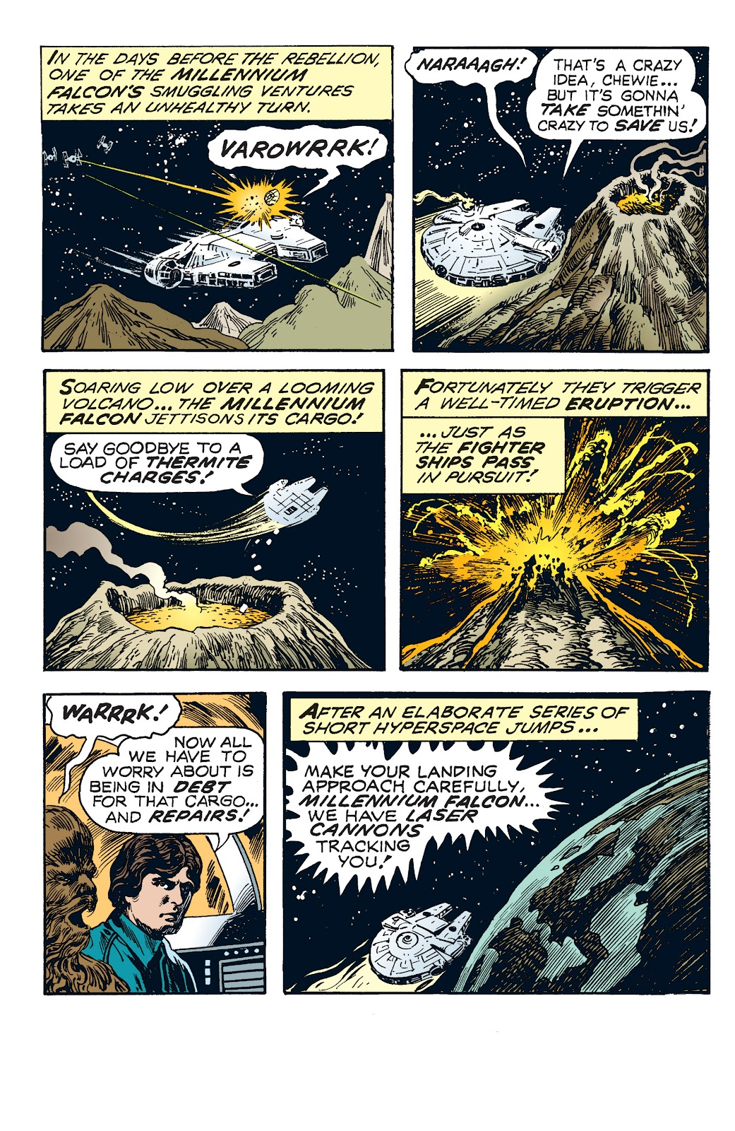 Read online Star Wars Legends: The Newspaper Strips - Epic Collection comic -  Issue # TPB (Part 4) - 9