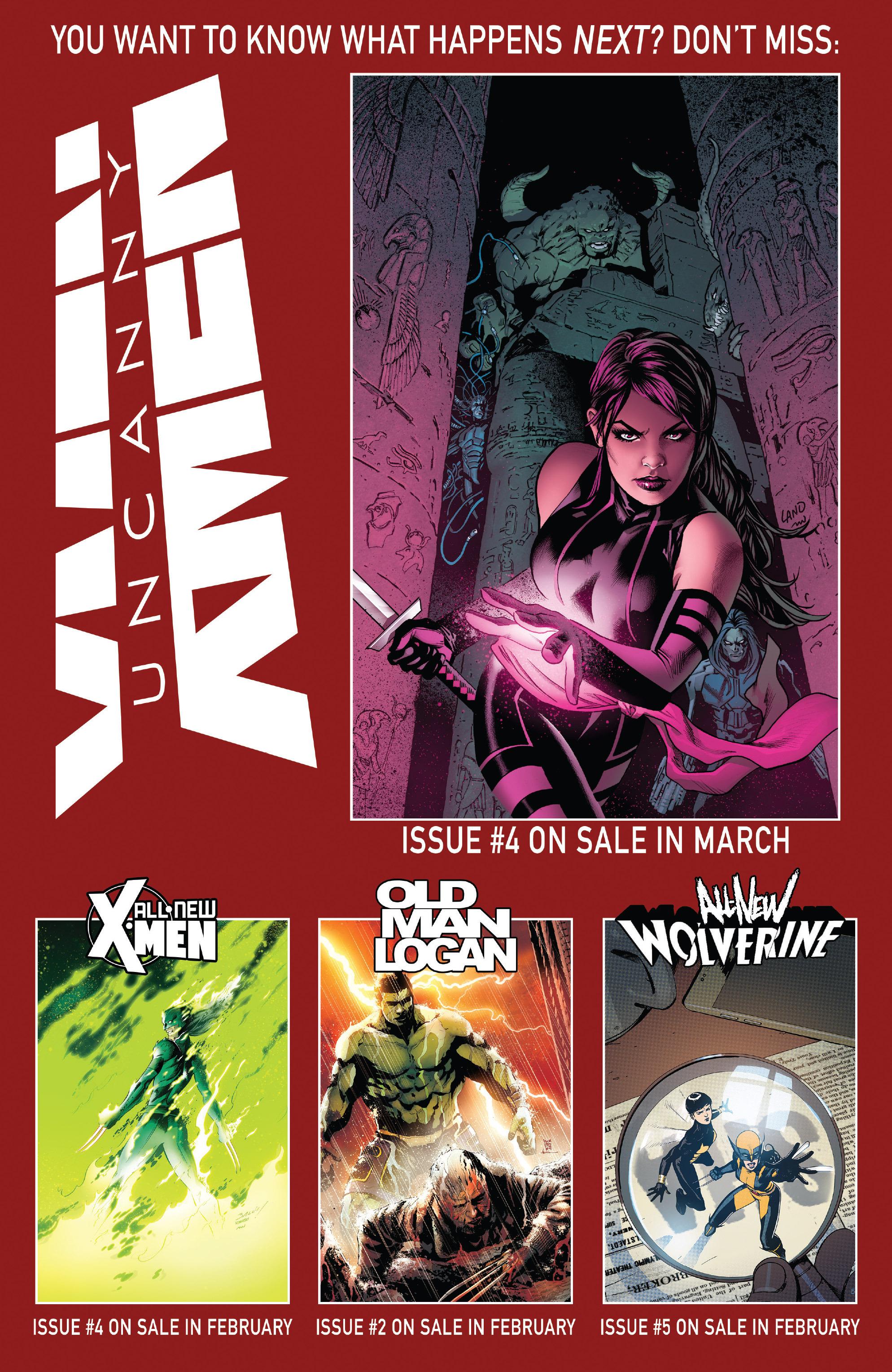Read online Uncanny X-Men (2016) comic -  Issue #3 - 22