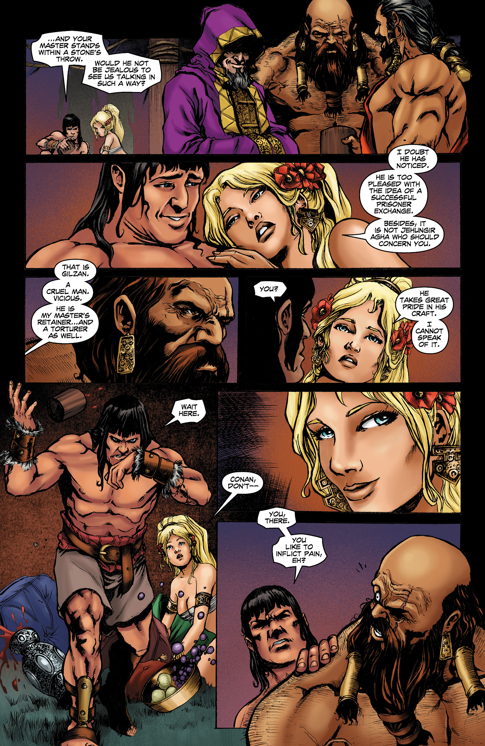 Read online Conan The Slayer comic -  Issue #8 - 12