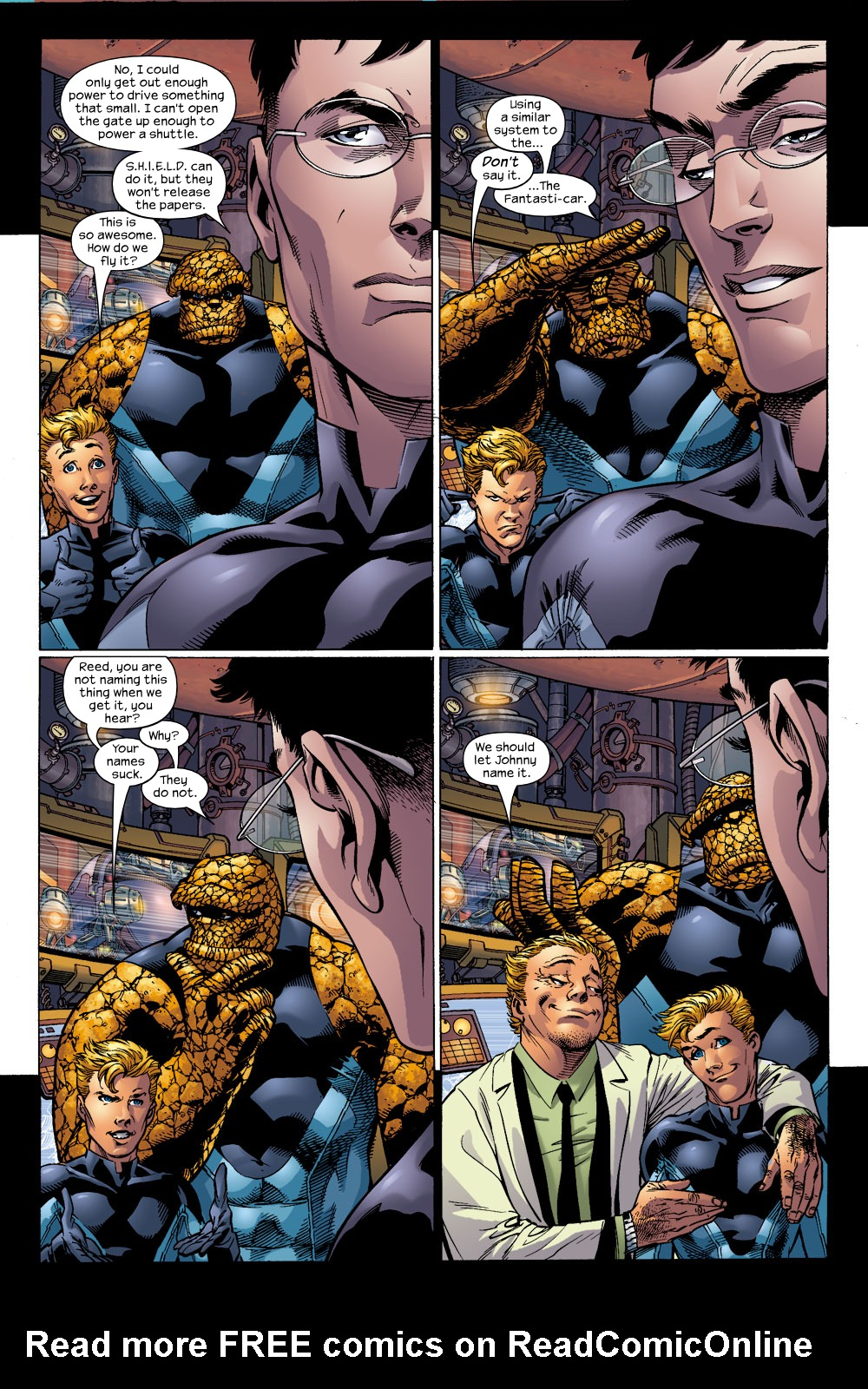 Read online Ultimate Fantastic Four (2004) comic -  Issue #14 - 11