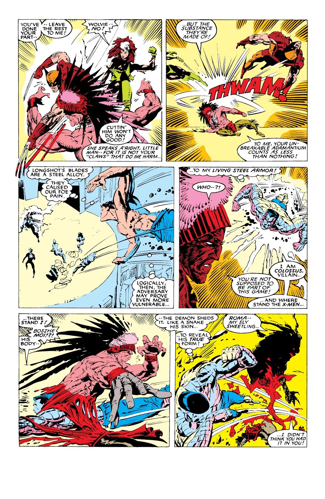 Read online X-Men Milestones: Fall of the Mutants comic -  Issue # TPB (Part 1) - 82