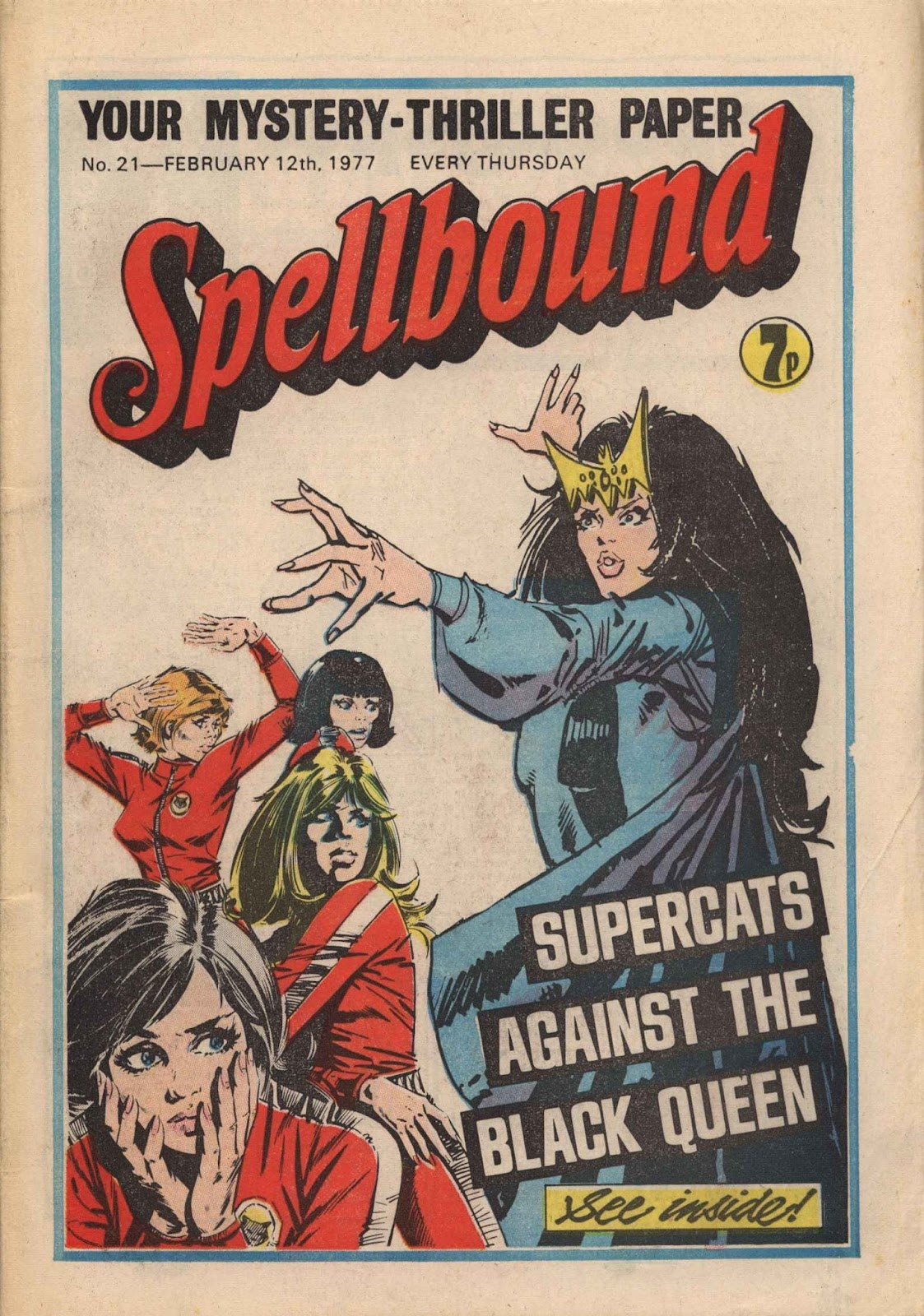 Spellbound (1988) issue 21 - Page 1