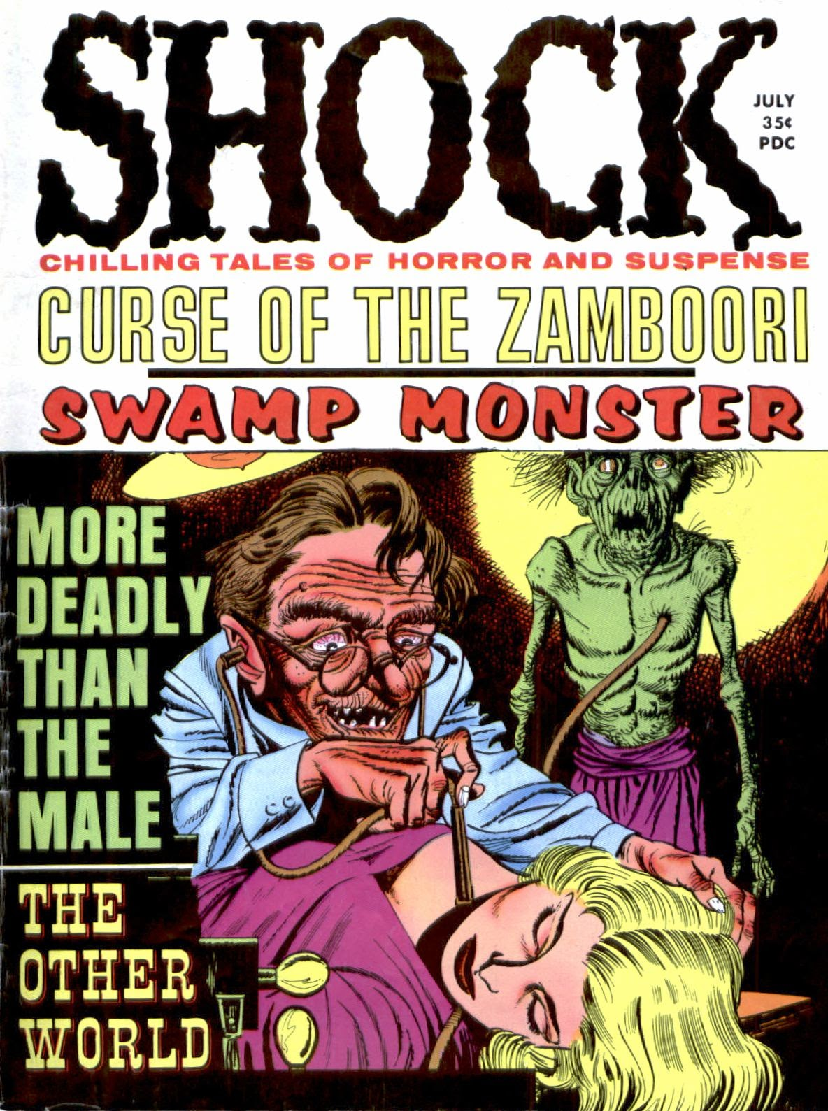 Shock (1969) issue 2 - Page 1