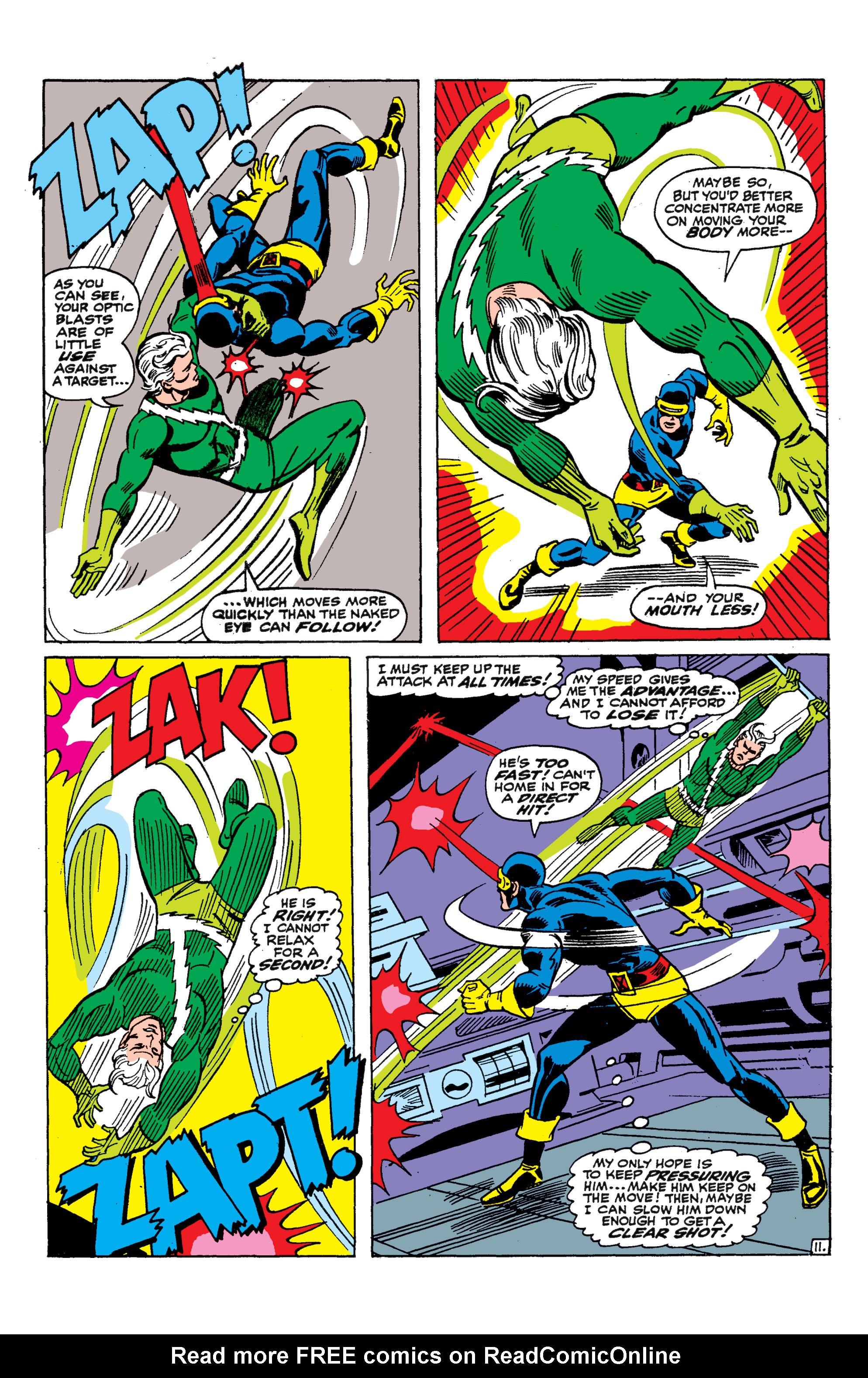 Uncanny X-Men (1963) 45 Page 11