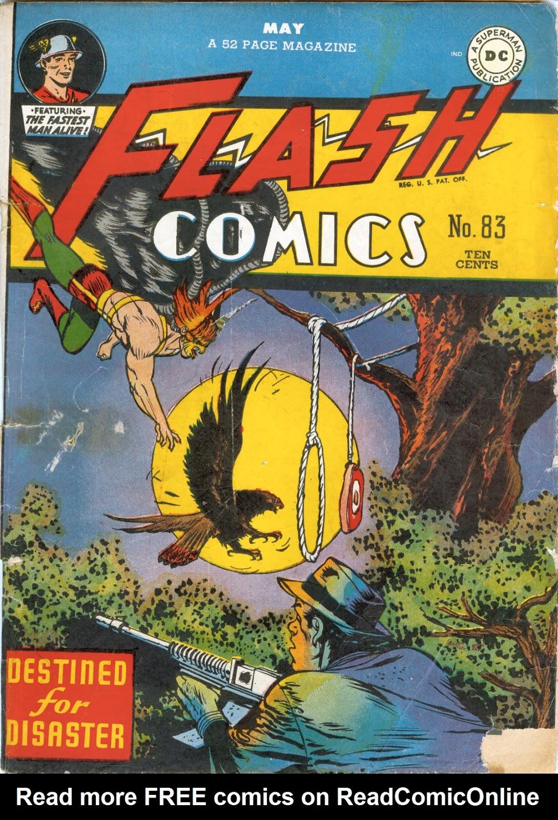 Flash Comics 83 Page 1