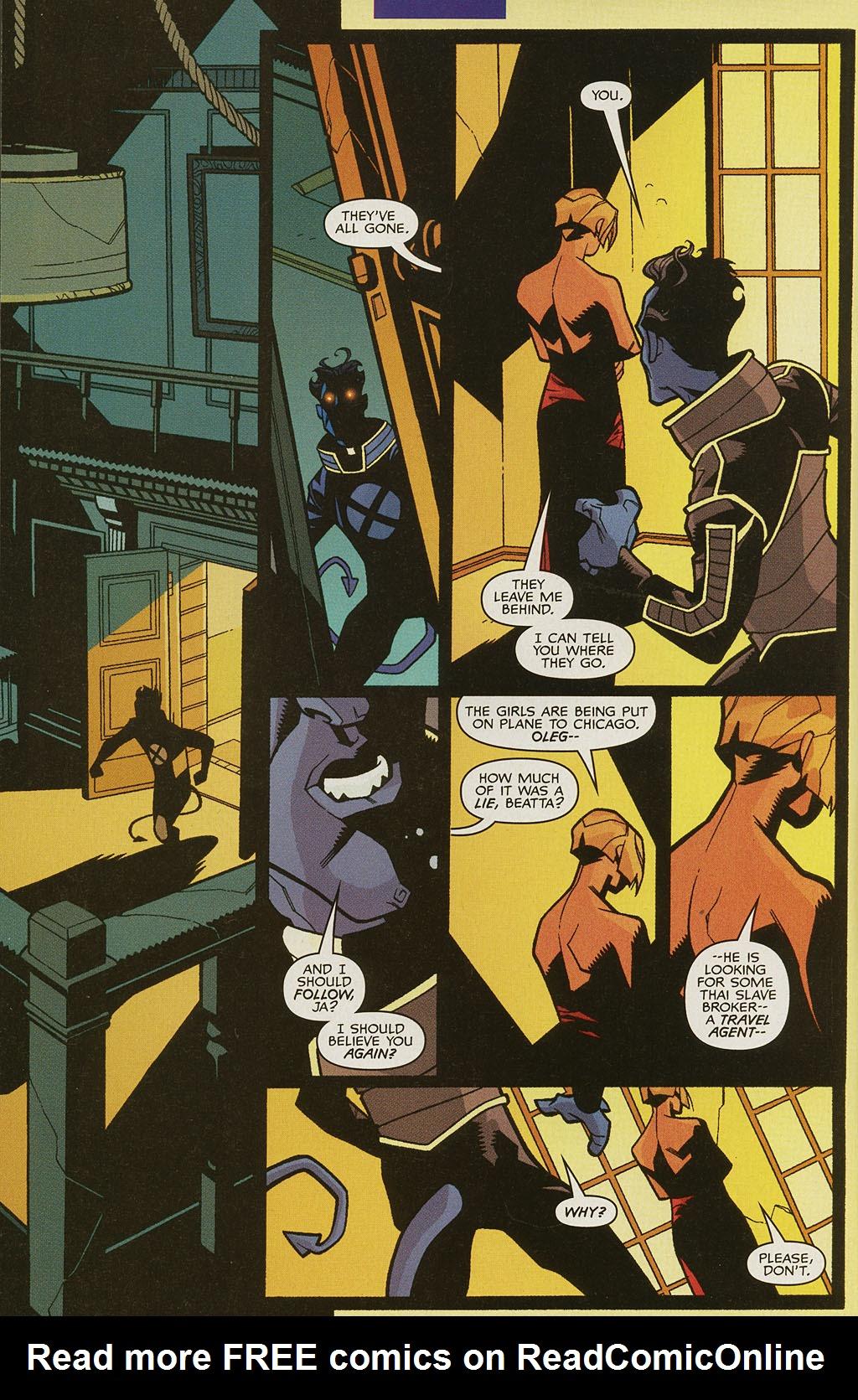 Read online Nightcrawler (2002) comic -  Issue #4 - 6