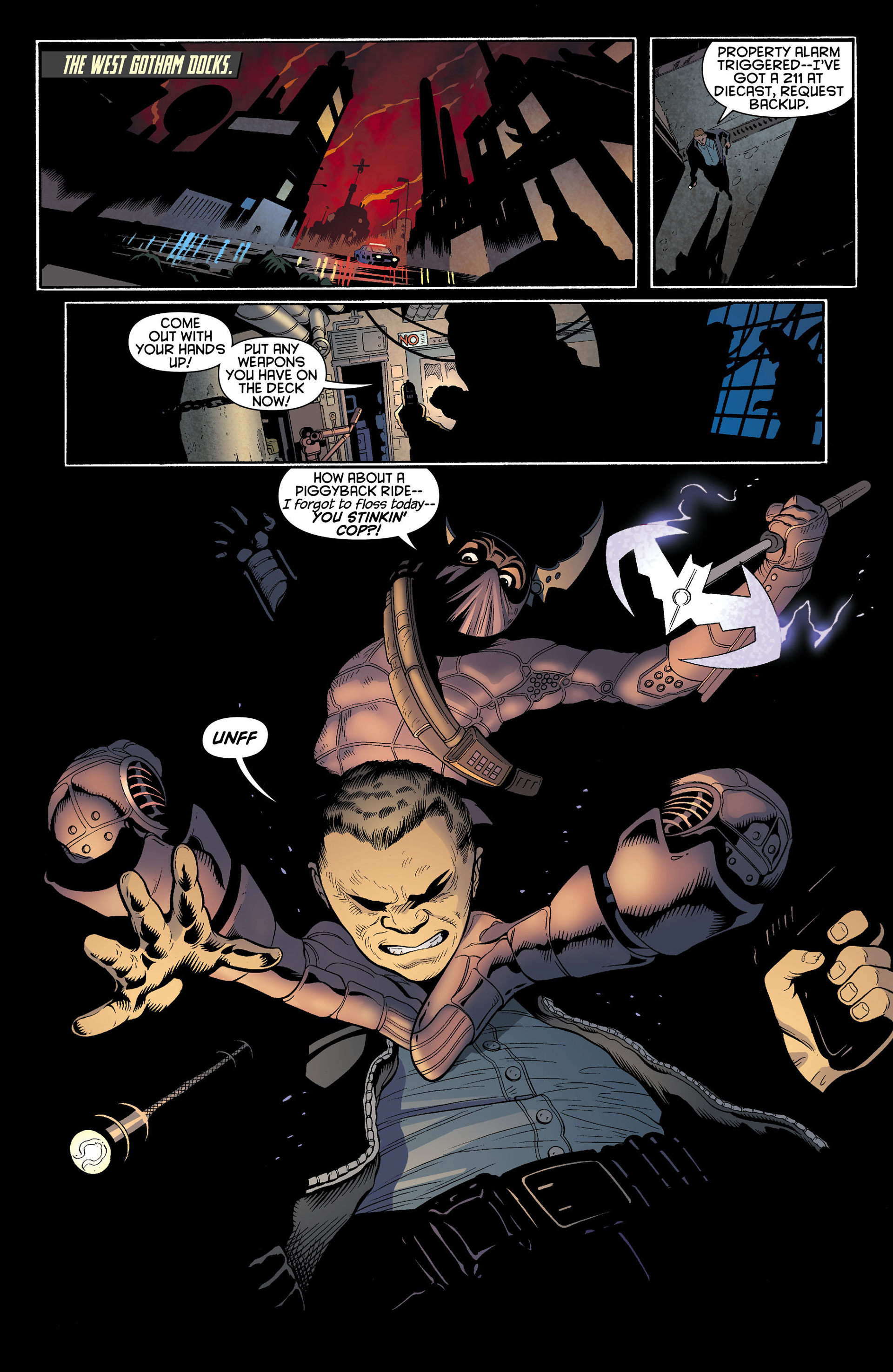 Read online Batman and Robin (2011) comic -  Issue #11 - 8
