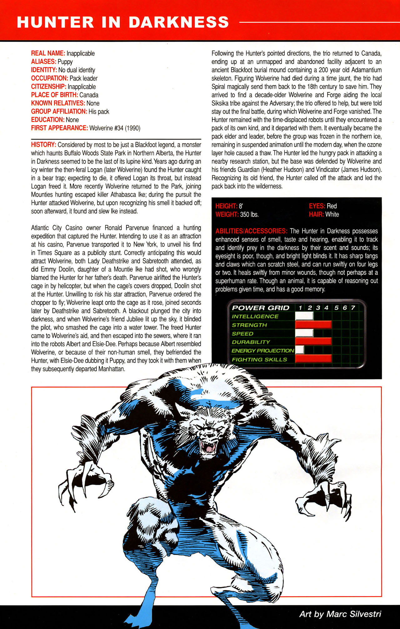 Read online All-New Official Handbook of the Marvel Universe A to Z: Update comic -  Issue #1 - 21