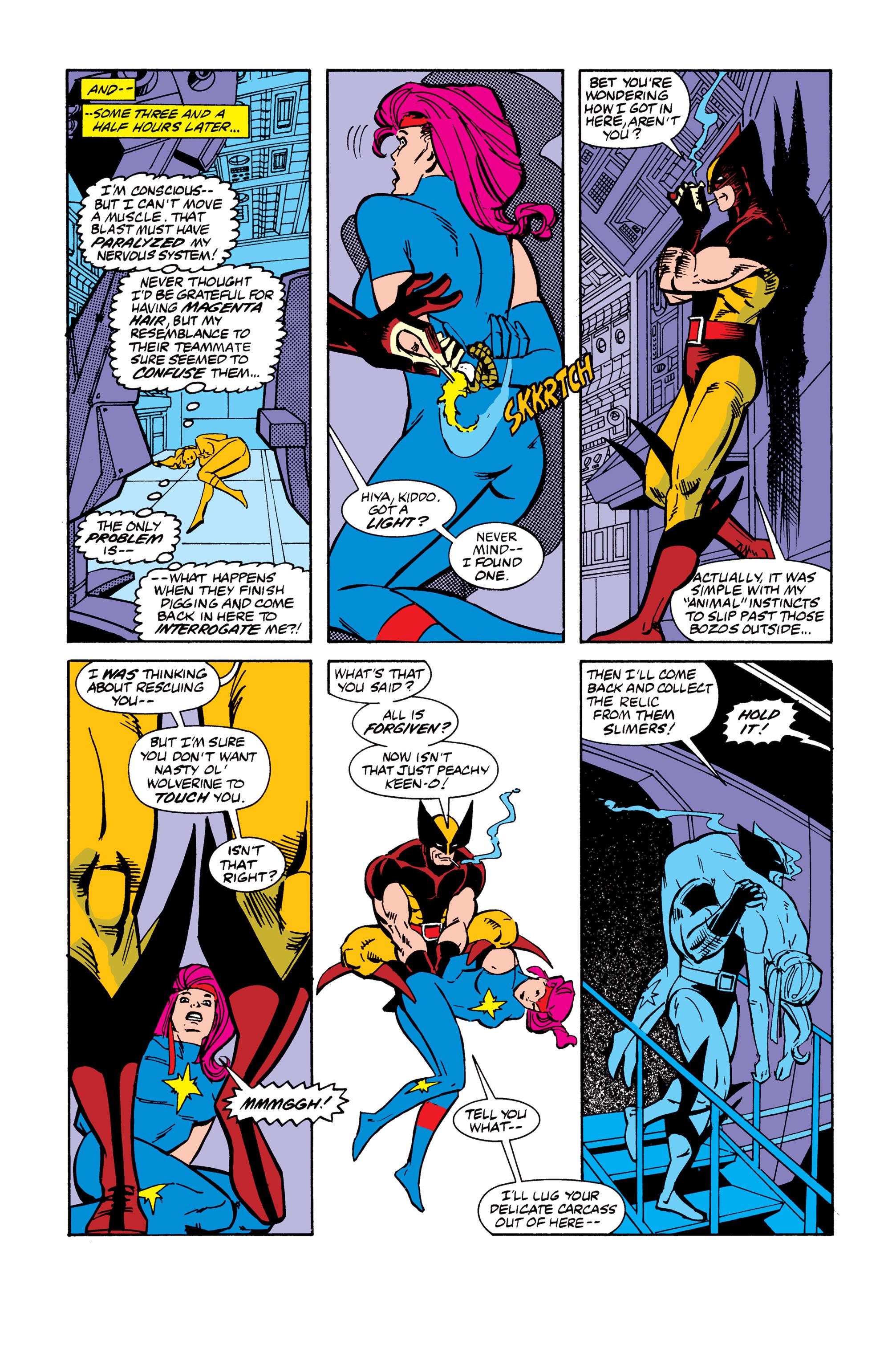 Read online Uncanny X-Men (1963) comic -  Issue # _Annual 13 - 13
