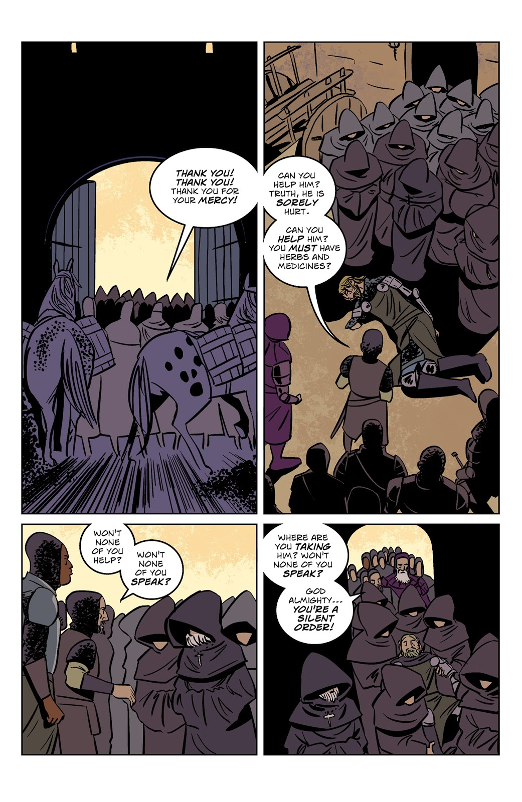 Read online Dark Ages comic -  Issue #1 - 21