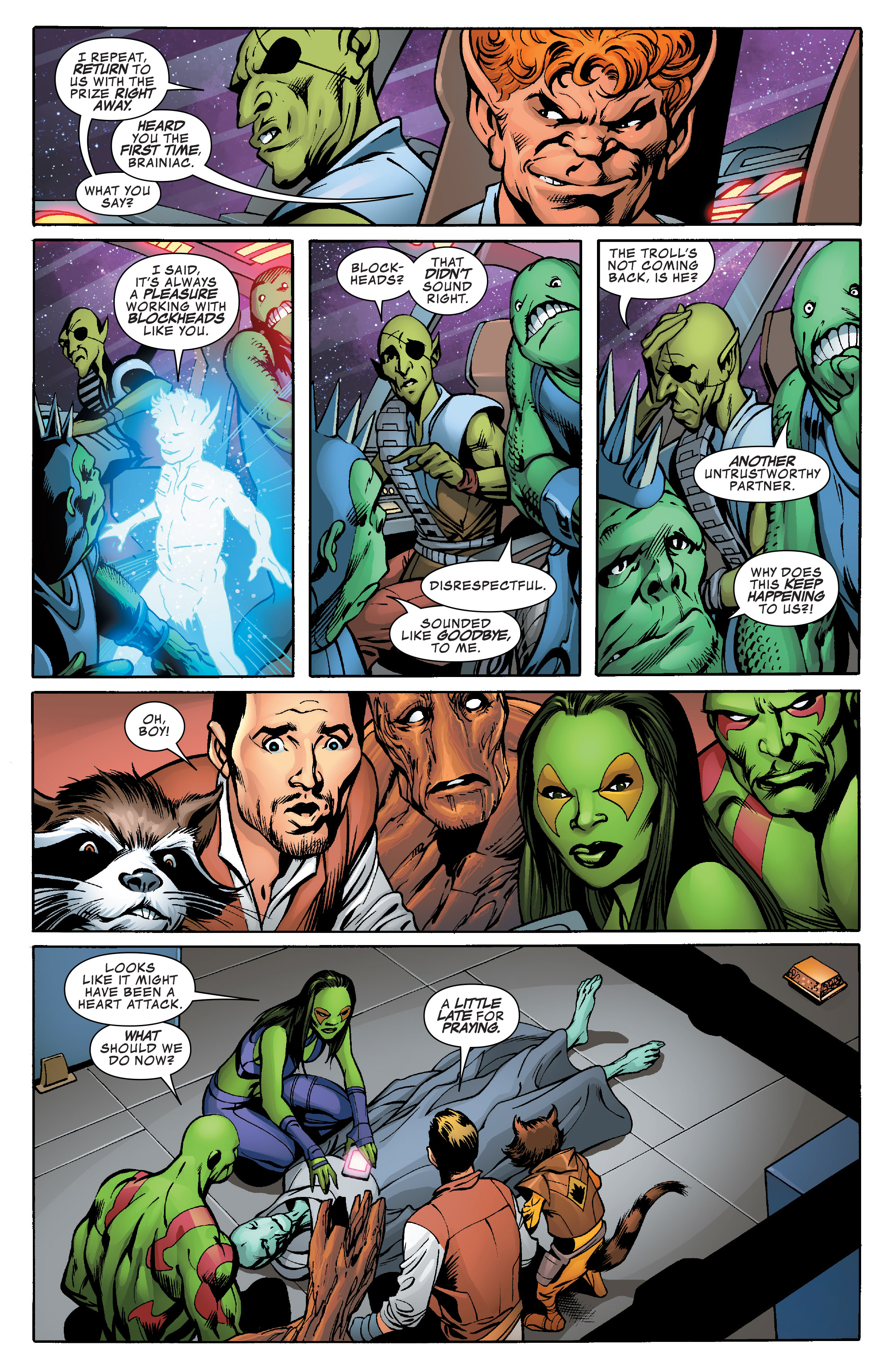 Read online Guardians of the Galaxy: Mother Entropy comic -  Issue #1 - 19