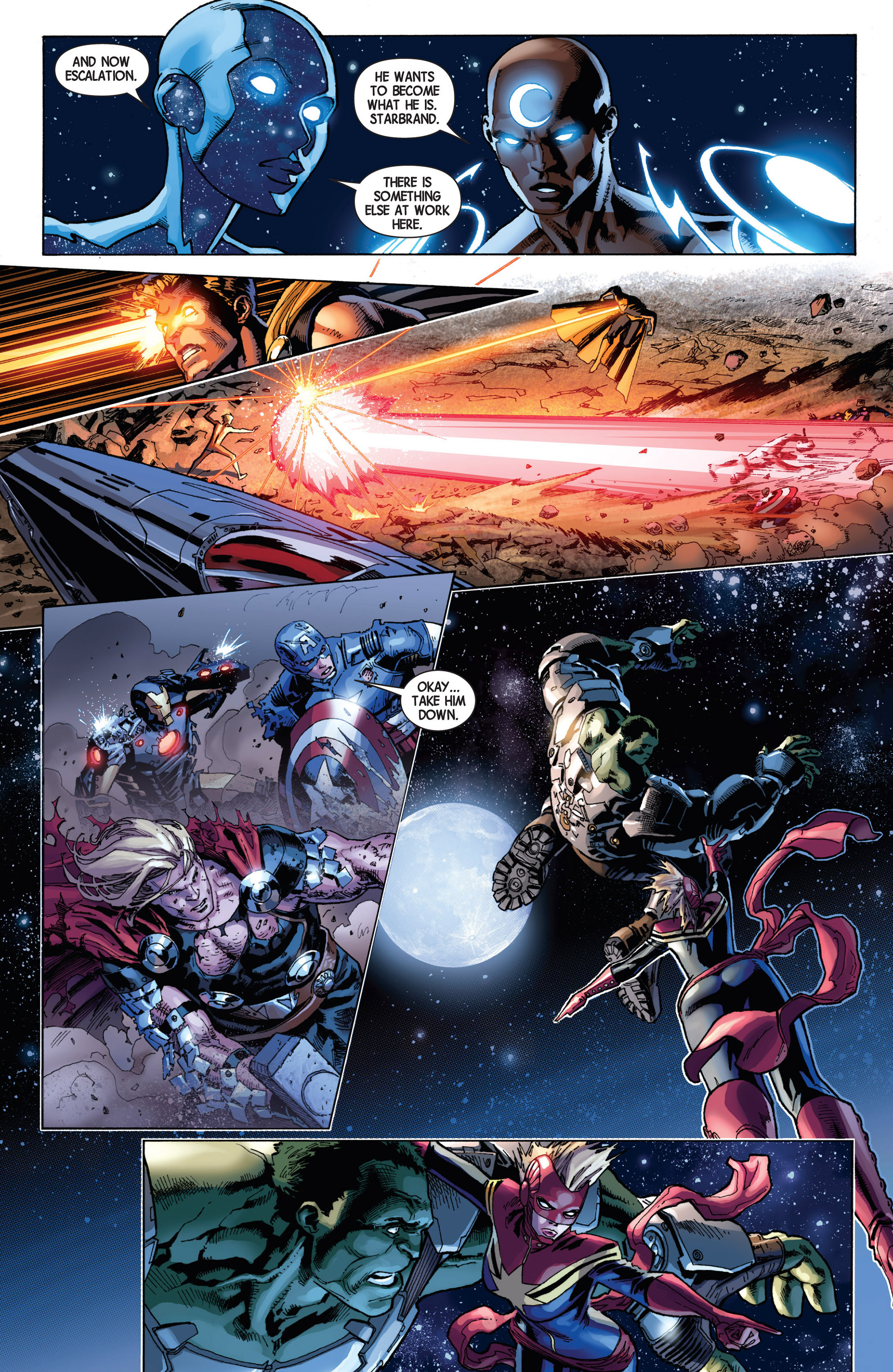 Read online Avengers (2013) comic -  Issue #8 - 13