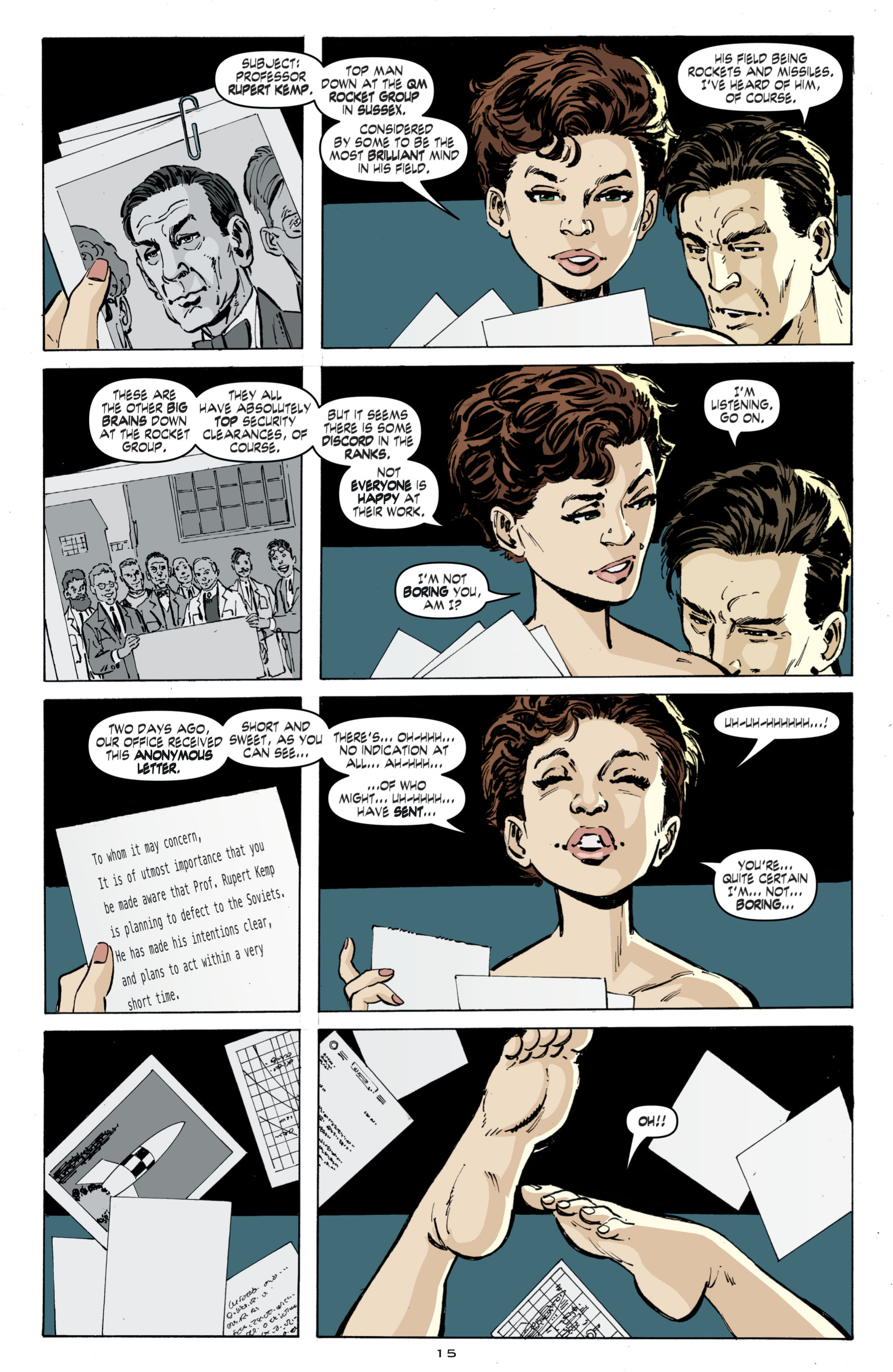 Read online Cold War comic -  Issue # TPB - 23